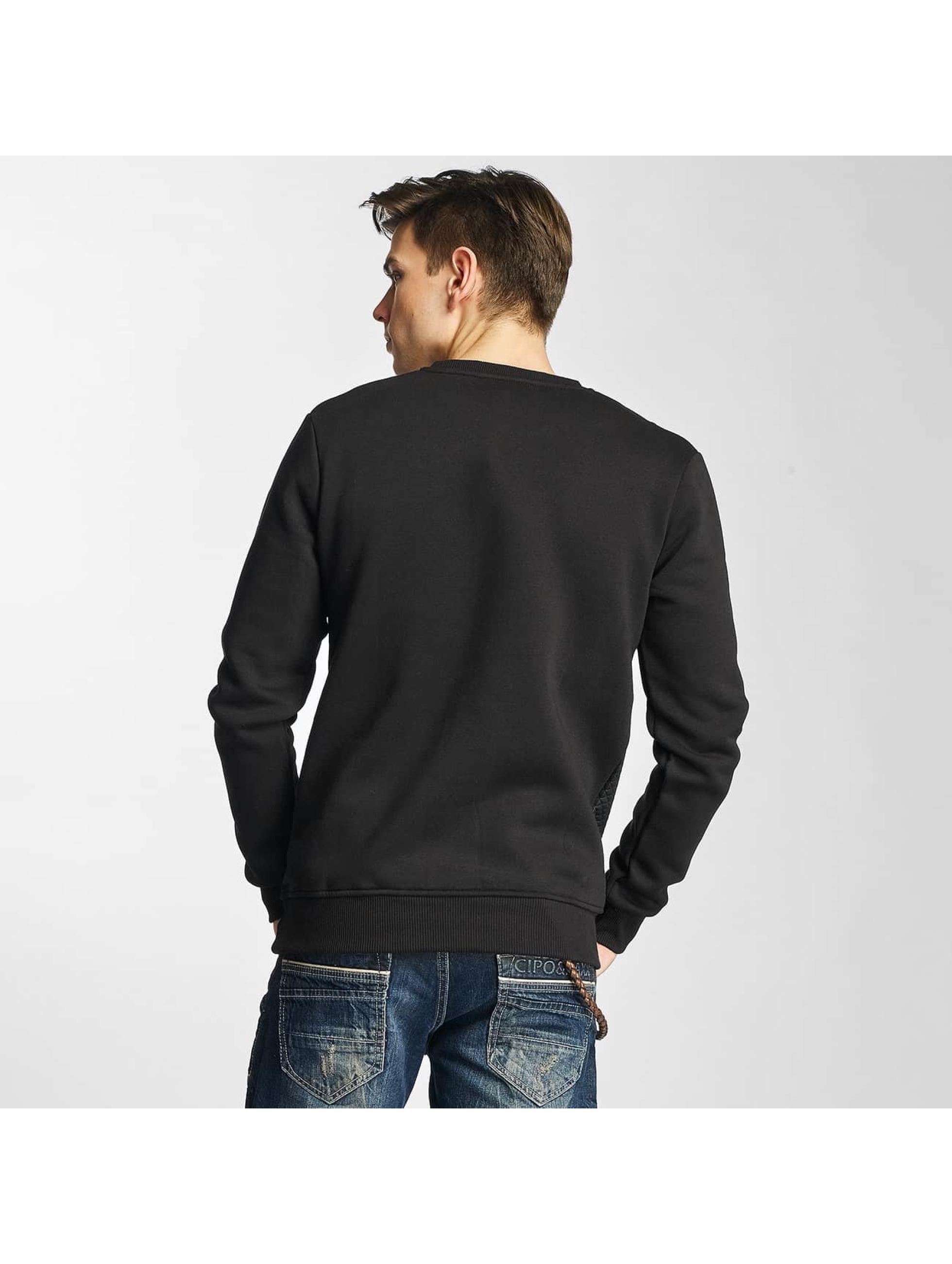 Cipo & Baxx Pullover Niam schwarz
