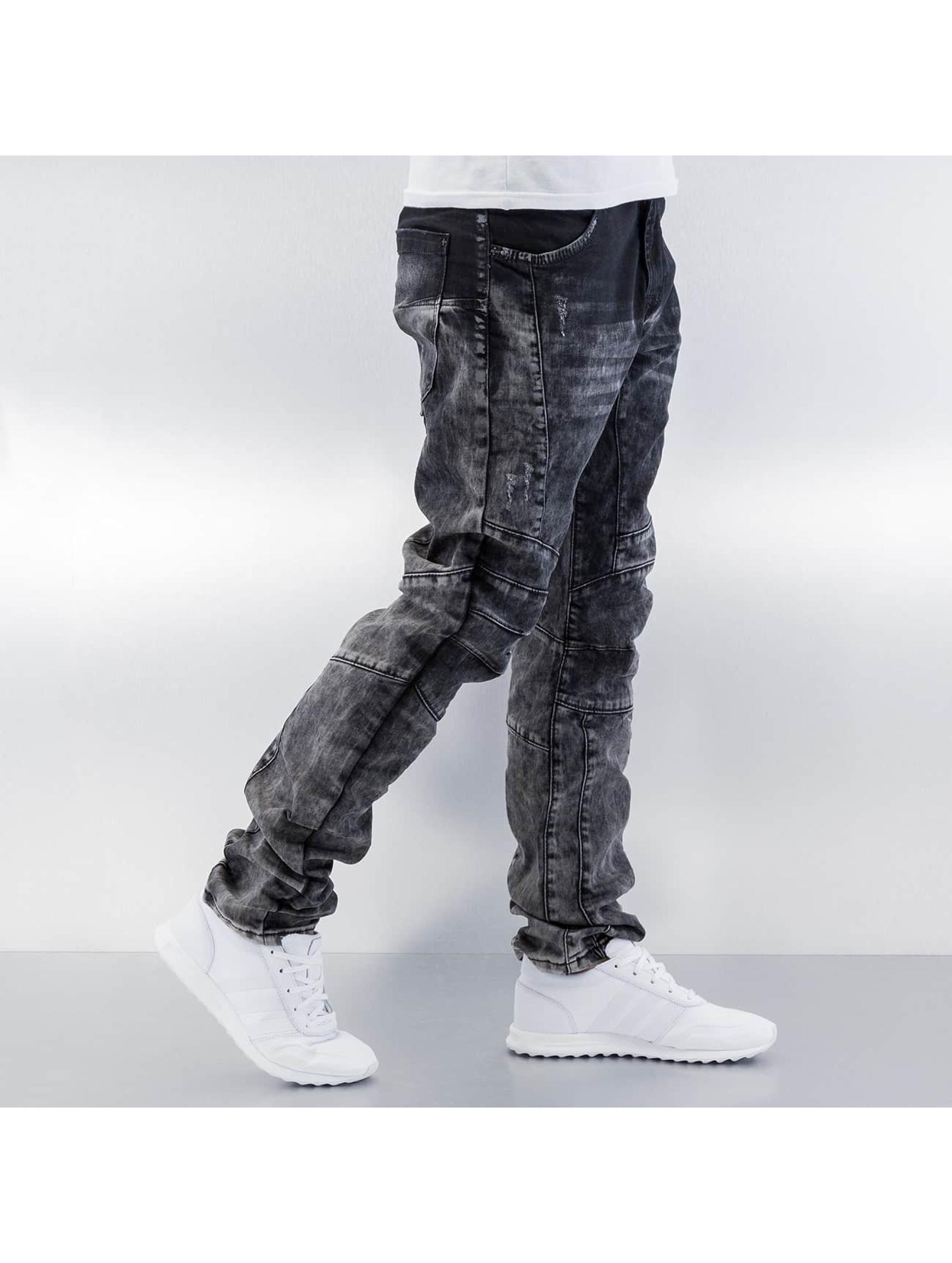 Cipo & Baxx Skinny Jeans Washed grau