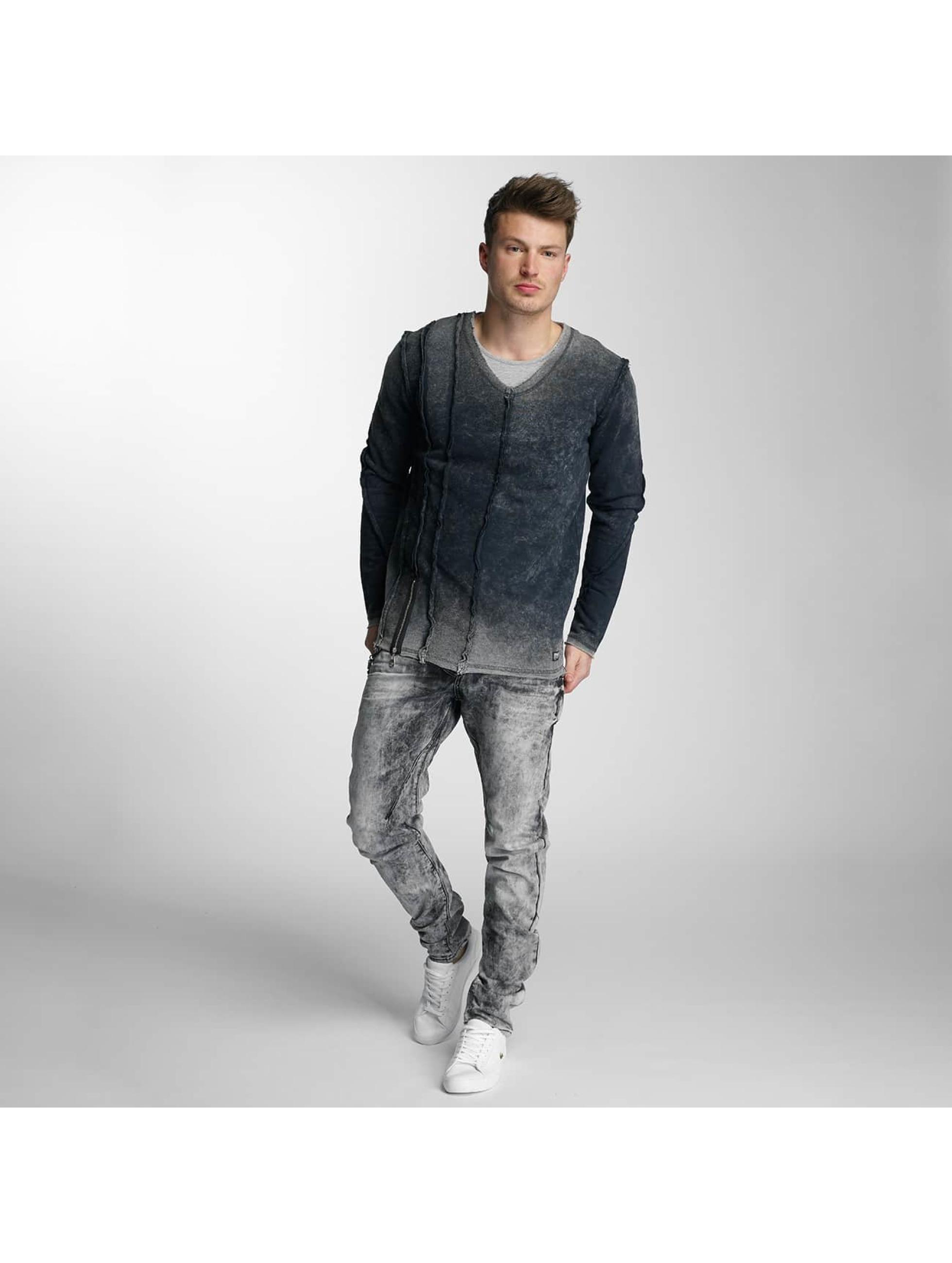 Cipo & Baxx Slim Fit Jeans Rif grau