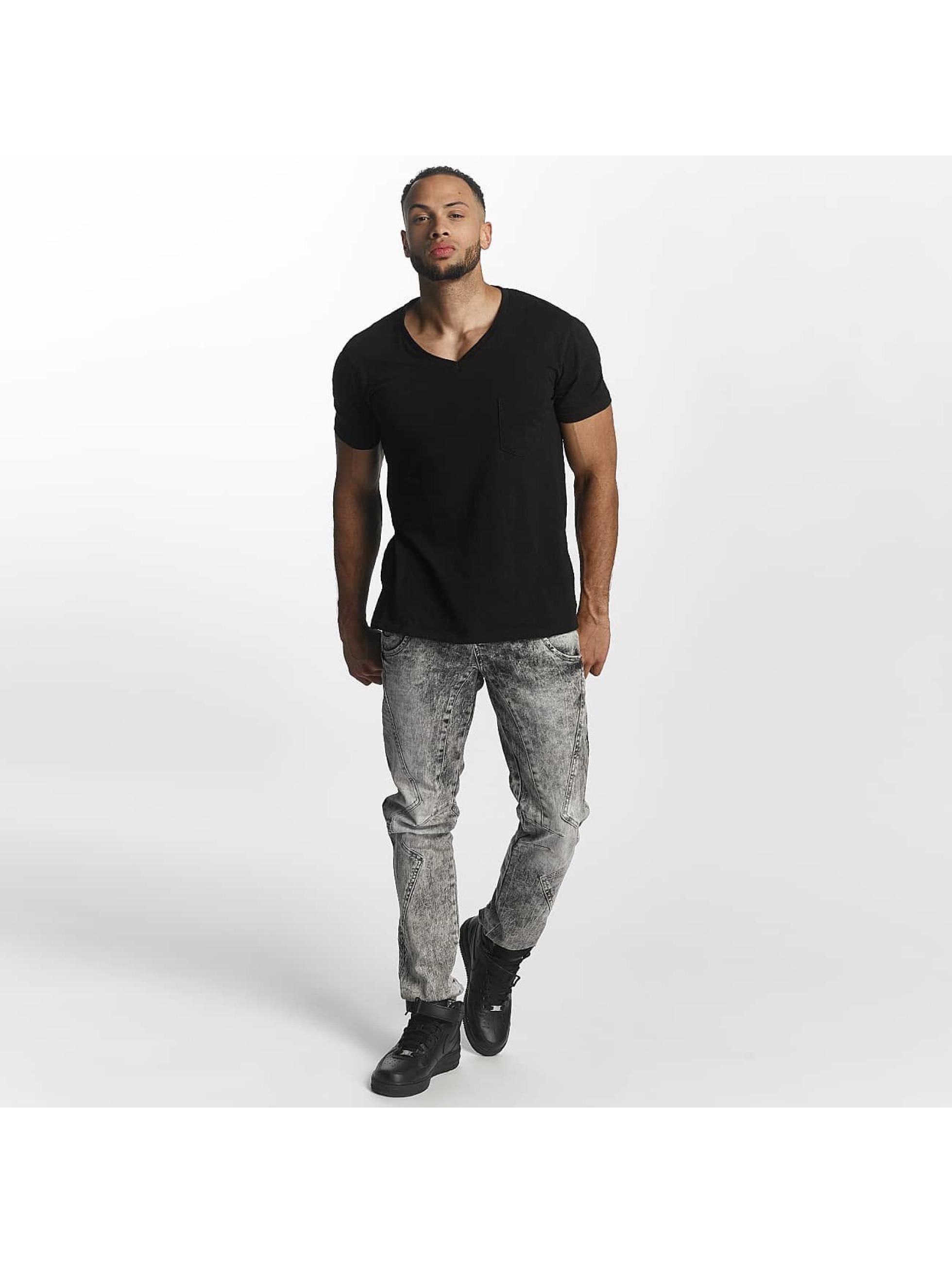 Cipo & Baxx Slim Fit Jeans Sergio grijs