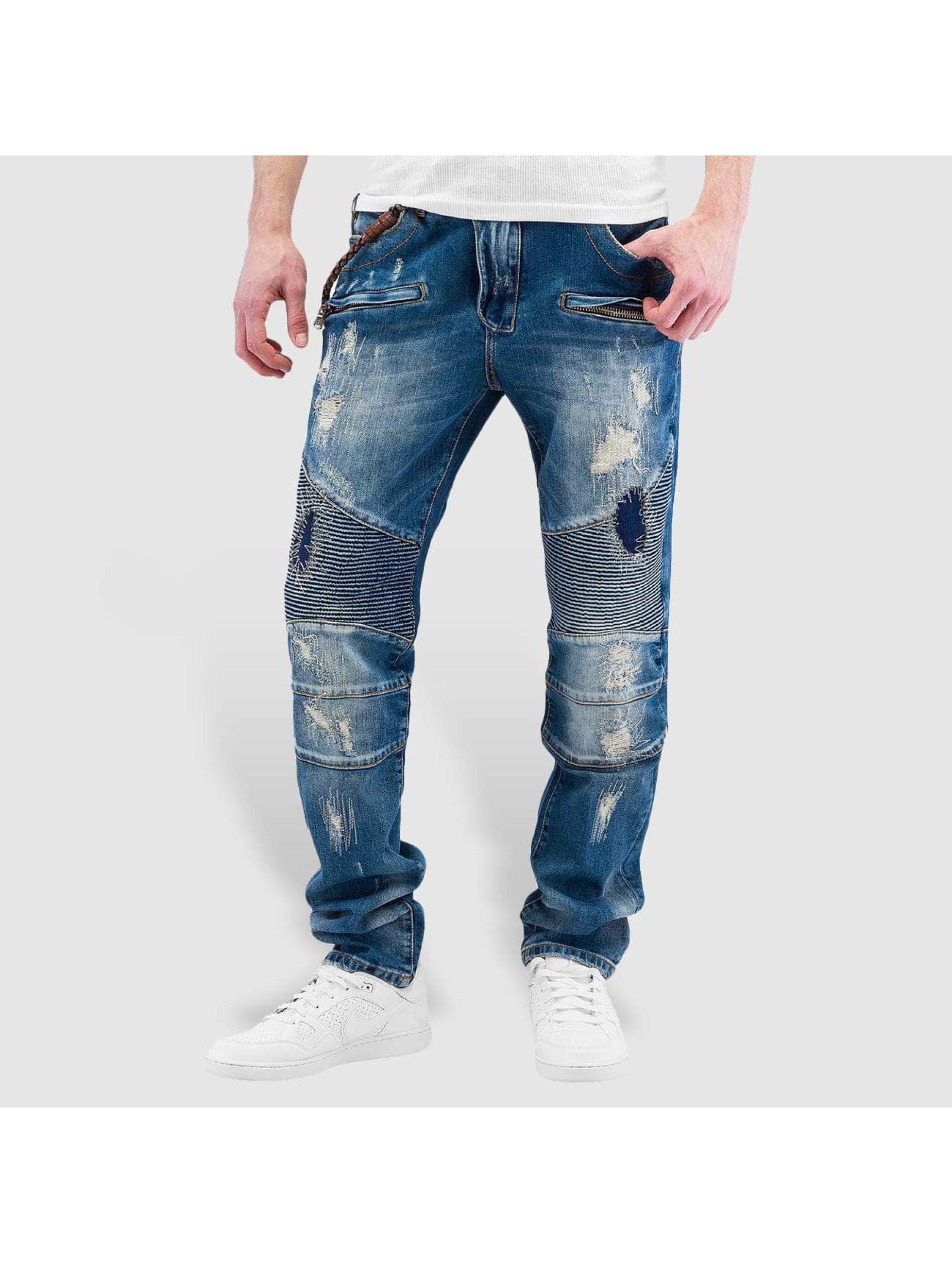 Cipo & Baxx Straight Fit Jeans Soletta blå