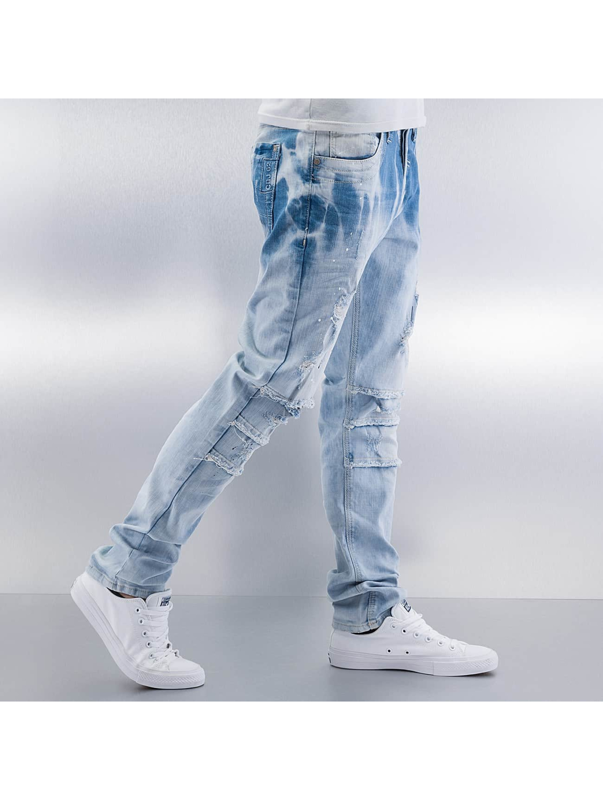 Cipo & Baxx Straight Fit Jeans Nilay blå