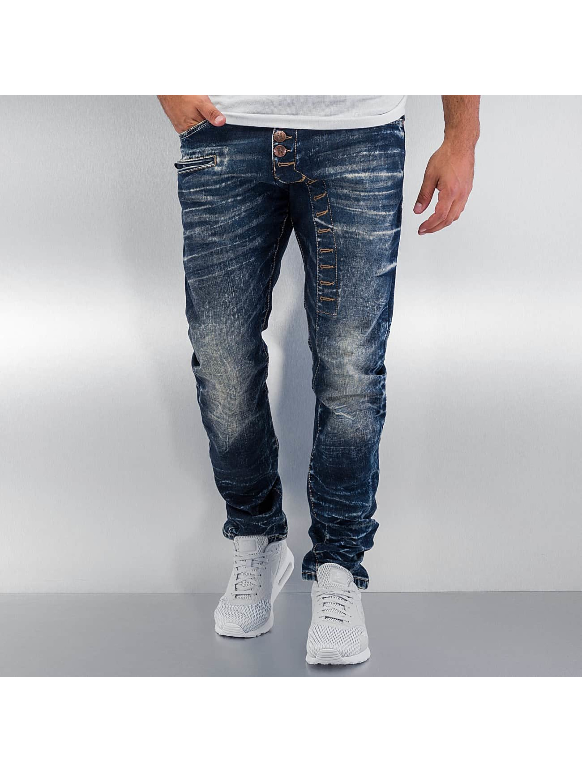 Cipo & Baxx Straight Fit Jeans Grenada blå