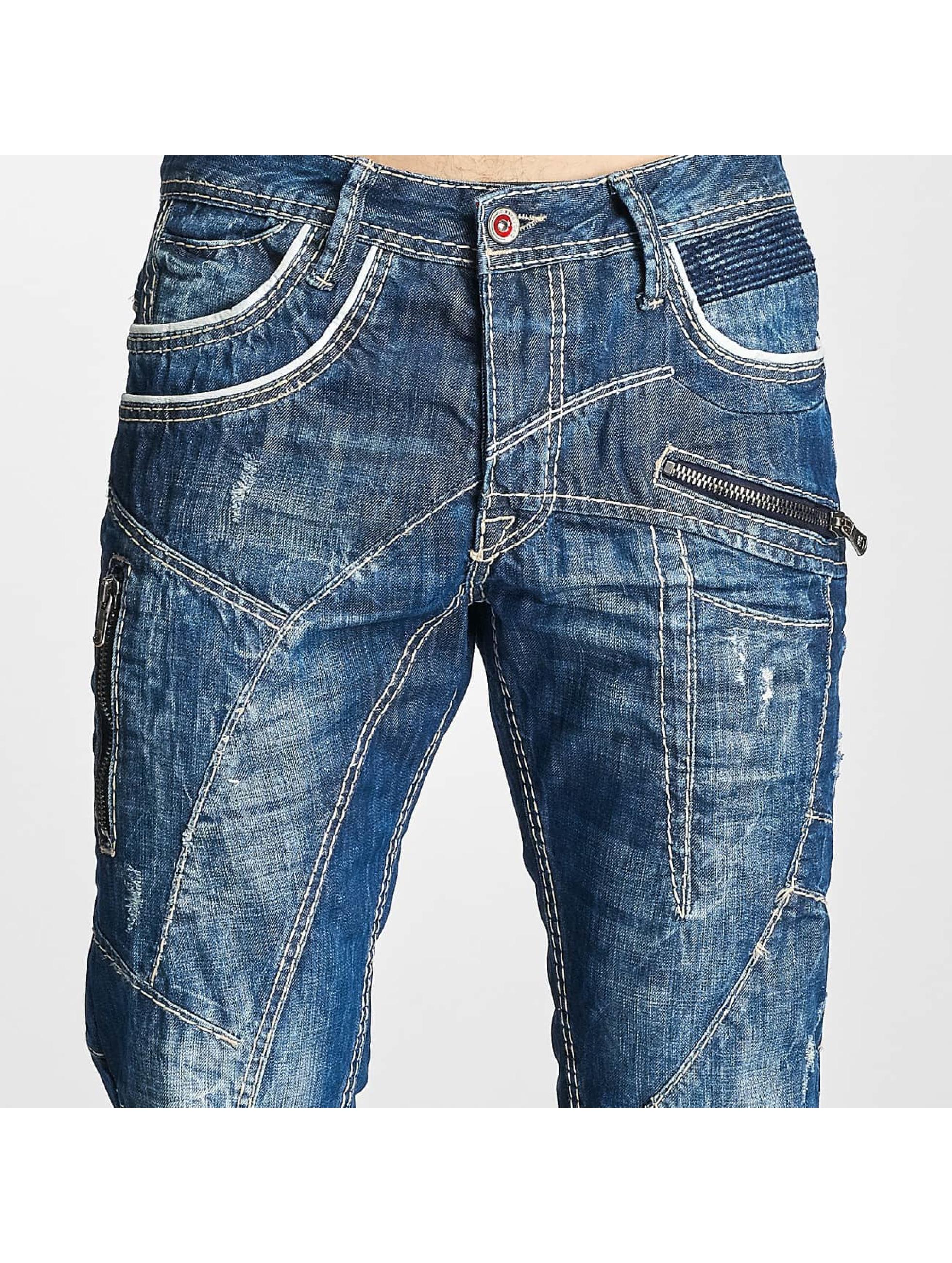 Cipo & Baxx Straight Fit Jeans Jarule blå