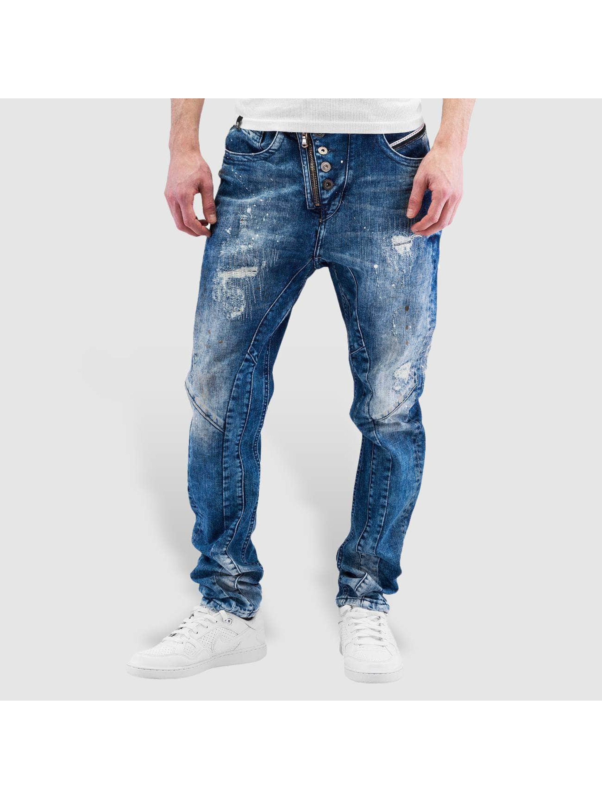 Cipo & Baxx Straight Fit Jeans Assisi blau