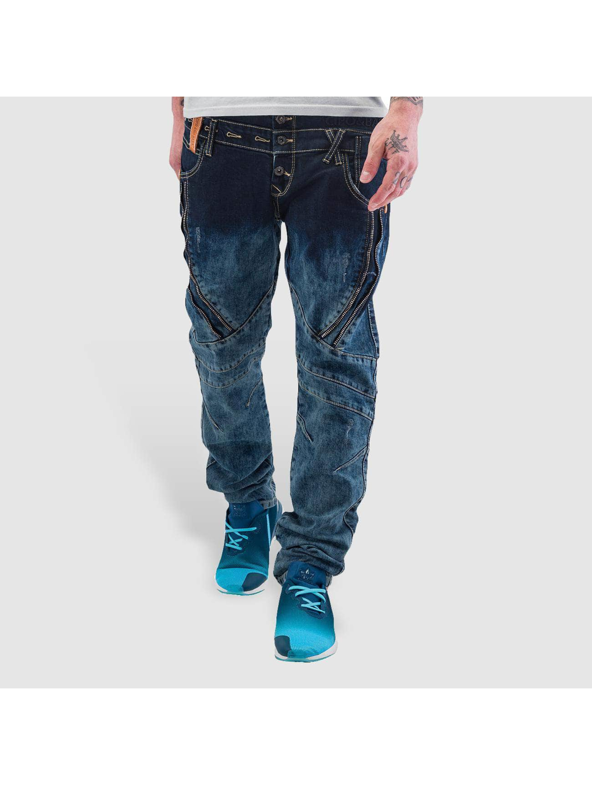 Cipo & Baxx Straight Fit Jeans Elias blau