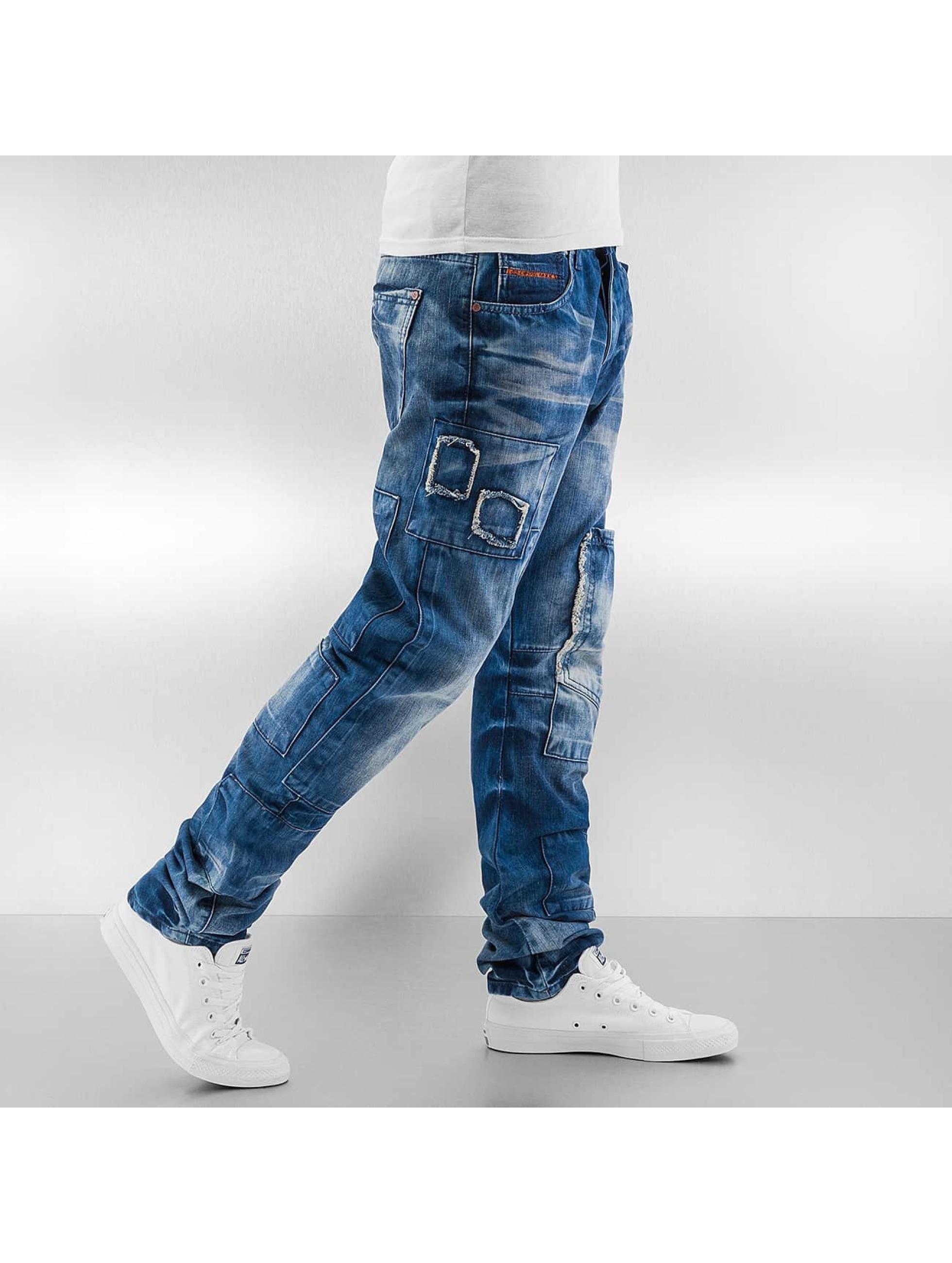 Cipo & Baxx Straight Fit Jeans Tajo blau