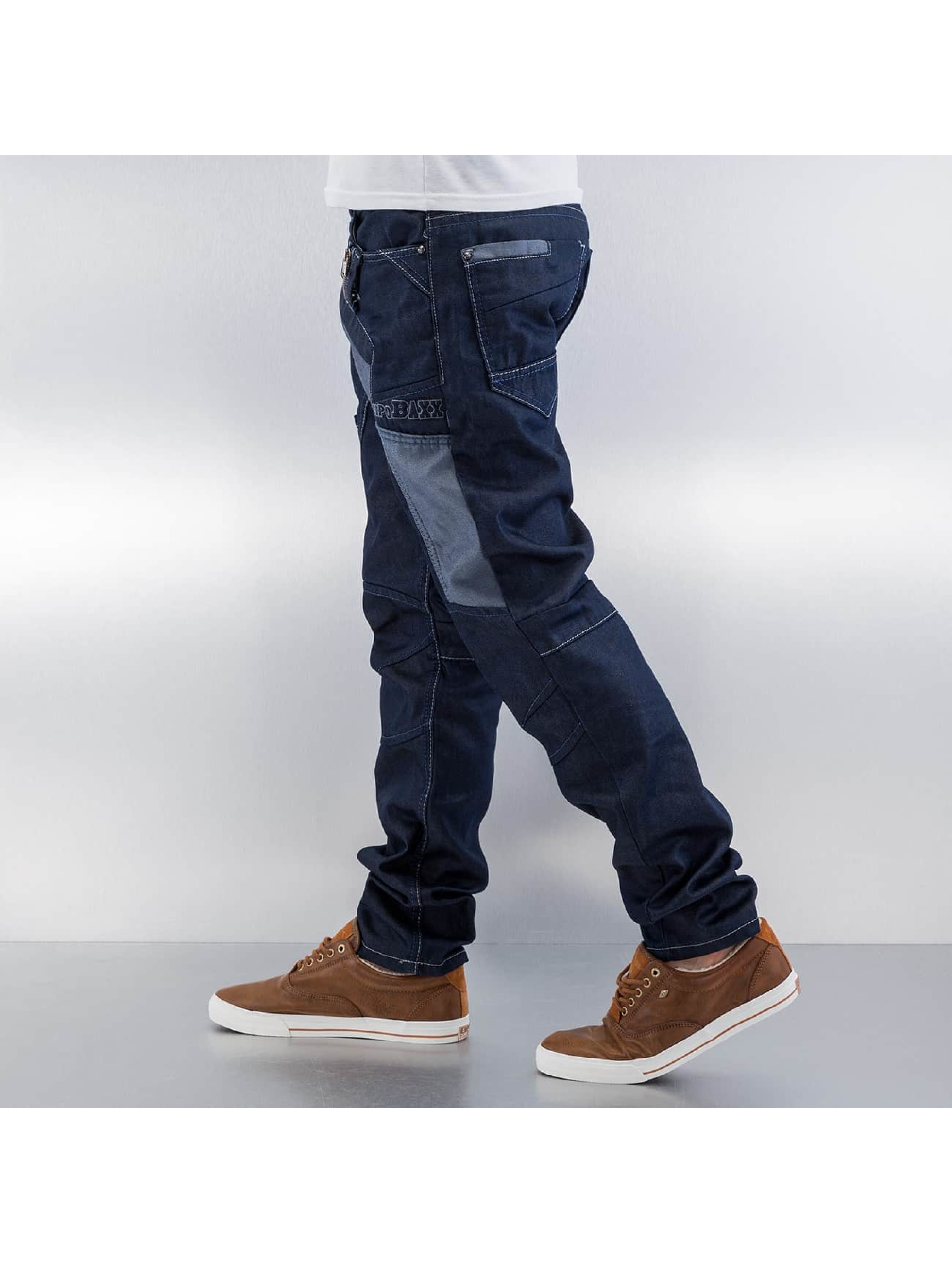 Cipo & Baxx Straight Fit Jeans Tight blau