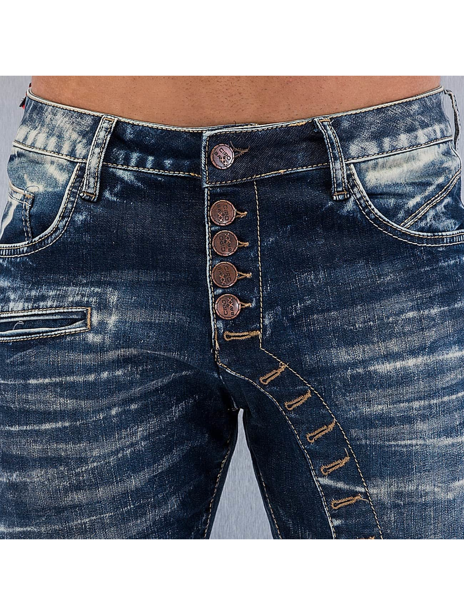 Cipo & Baxx Straight Fit Jeans Grenada blau