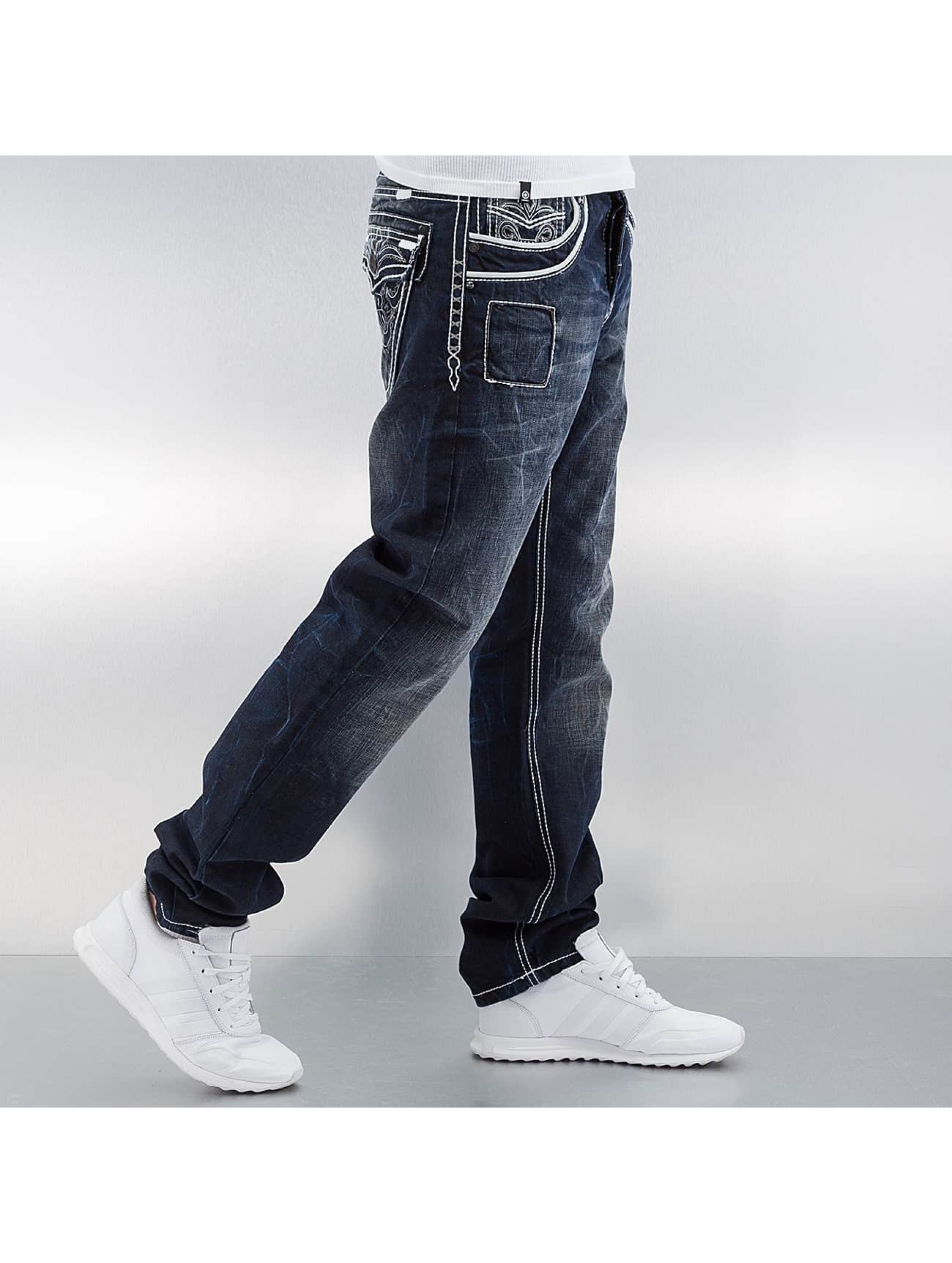 Cipo & Baxx Straight Fit Jeans Blackpool blau