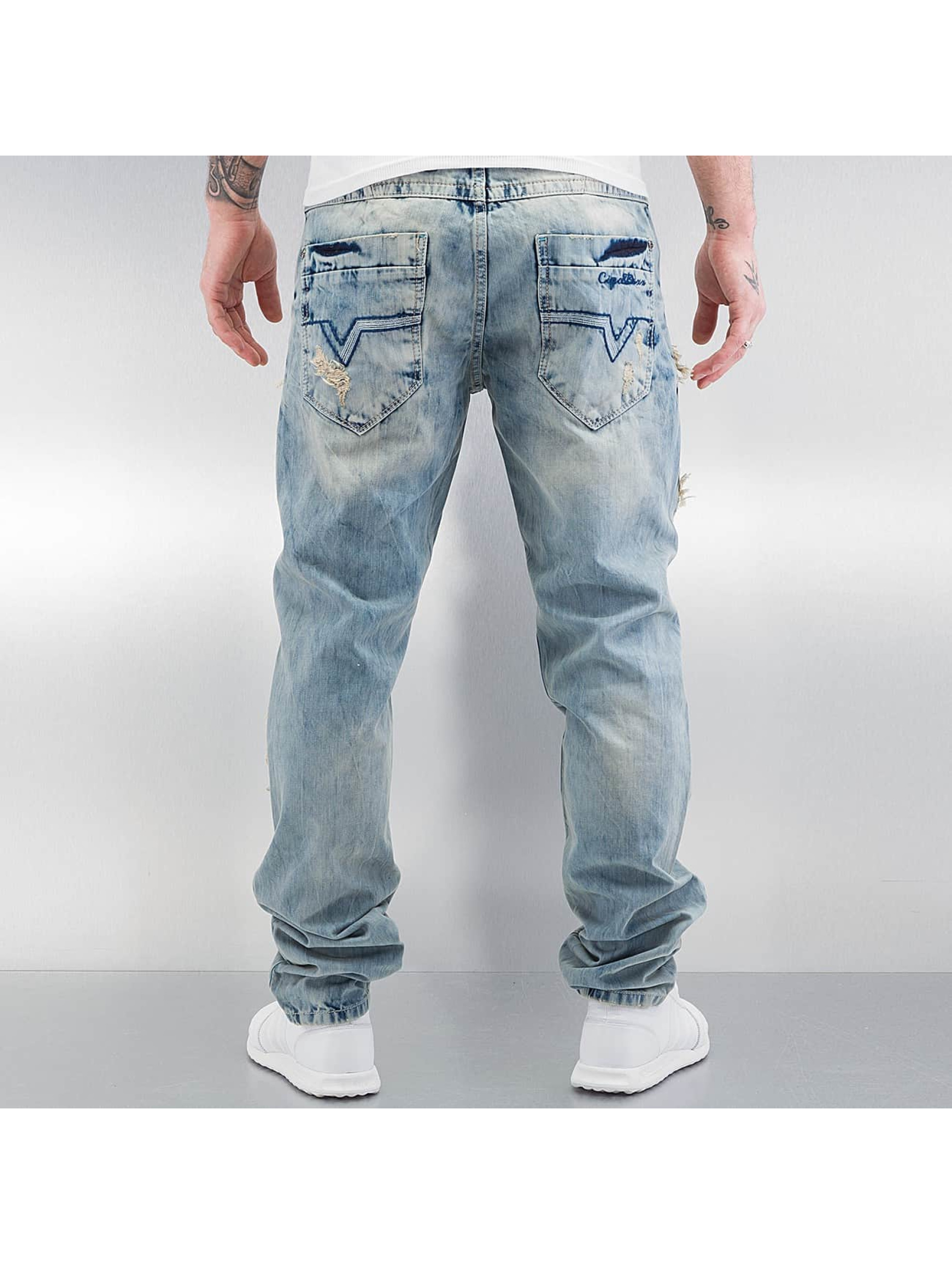 Cipo & Baxx Straight Fit Jeans Exeter blau