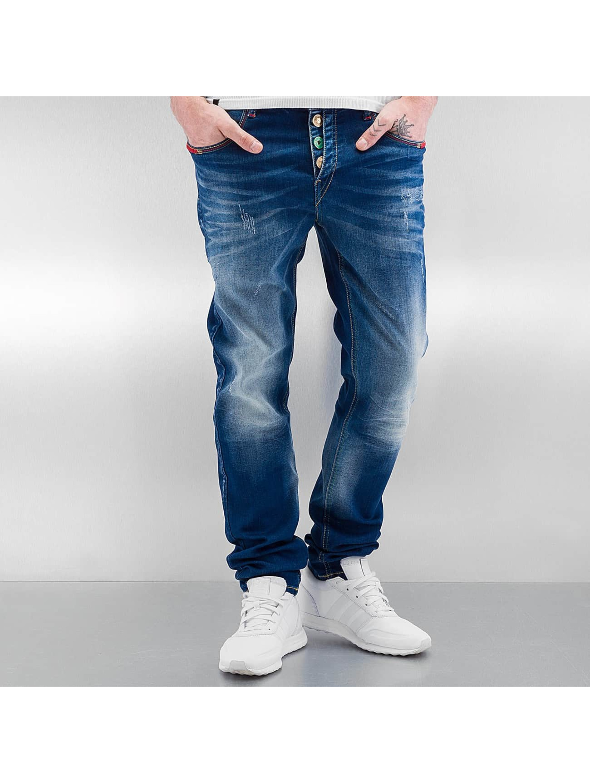 Cipo & Baxx Straight Fit Jeans Swindon blau