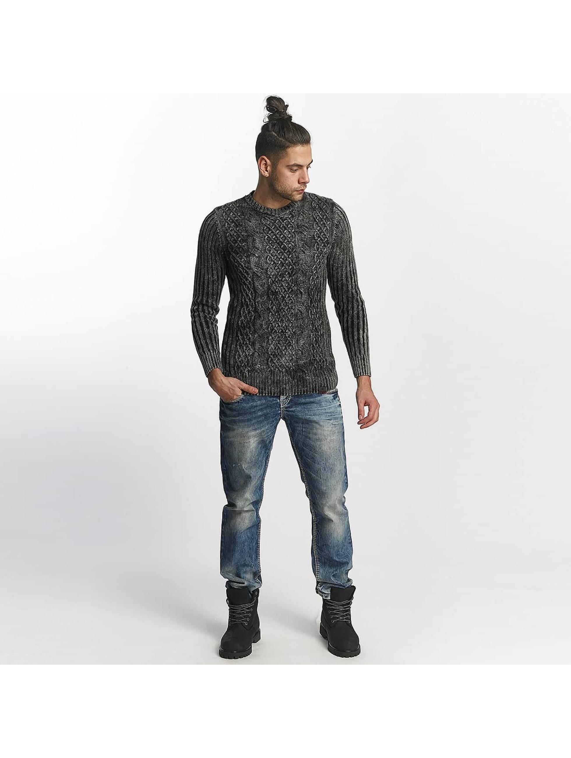 cipo baxx herren straight fit jeans used in blau 458818. Black Bedroom Furniture Sets. Home Design Ideas