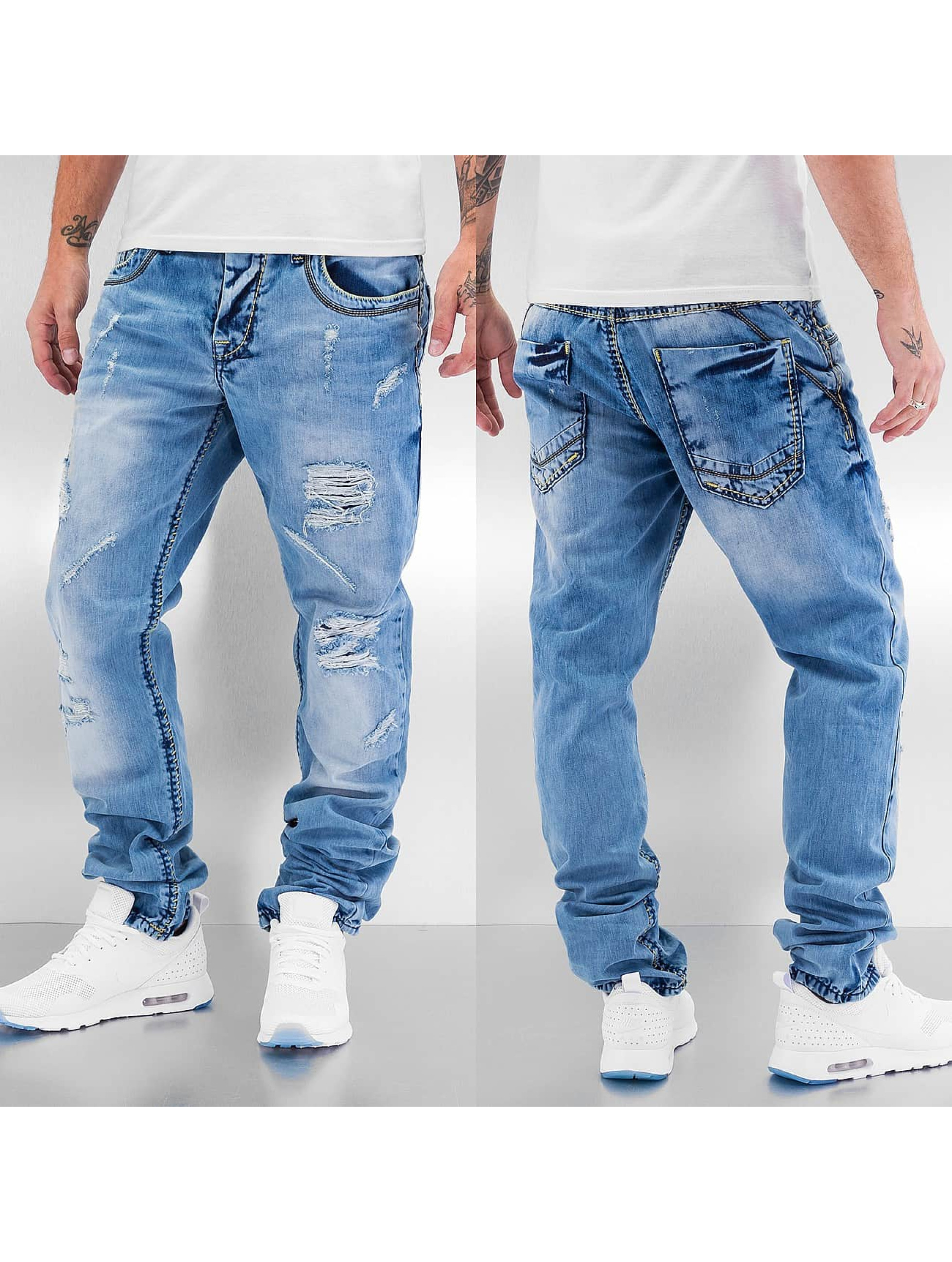 Cipo & Baxx Straight fit jeans Thick Seams blauw