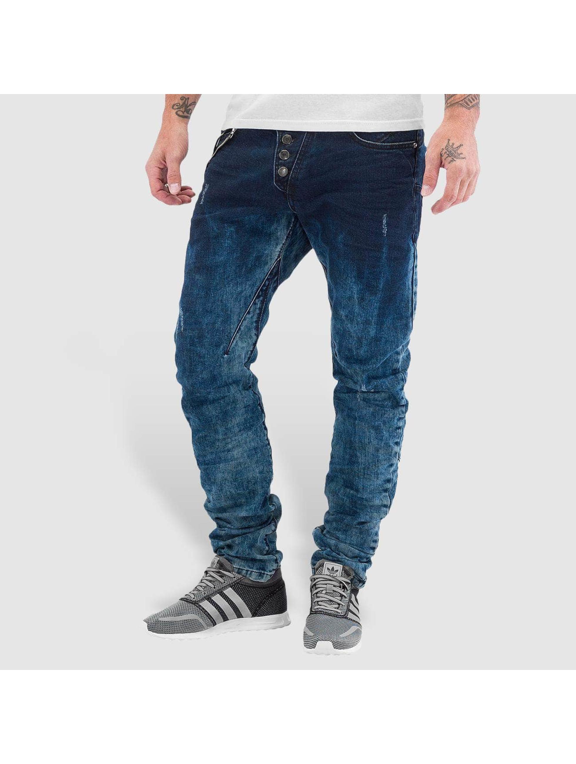 Cipo & Baxx Straight fit jeans Acid blauw