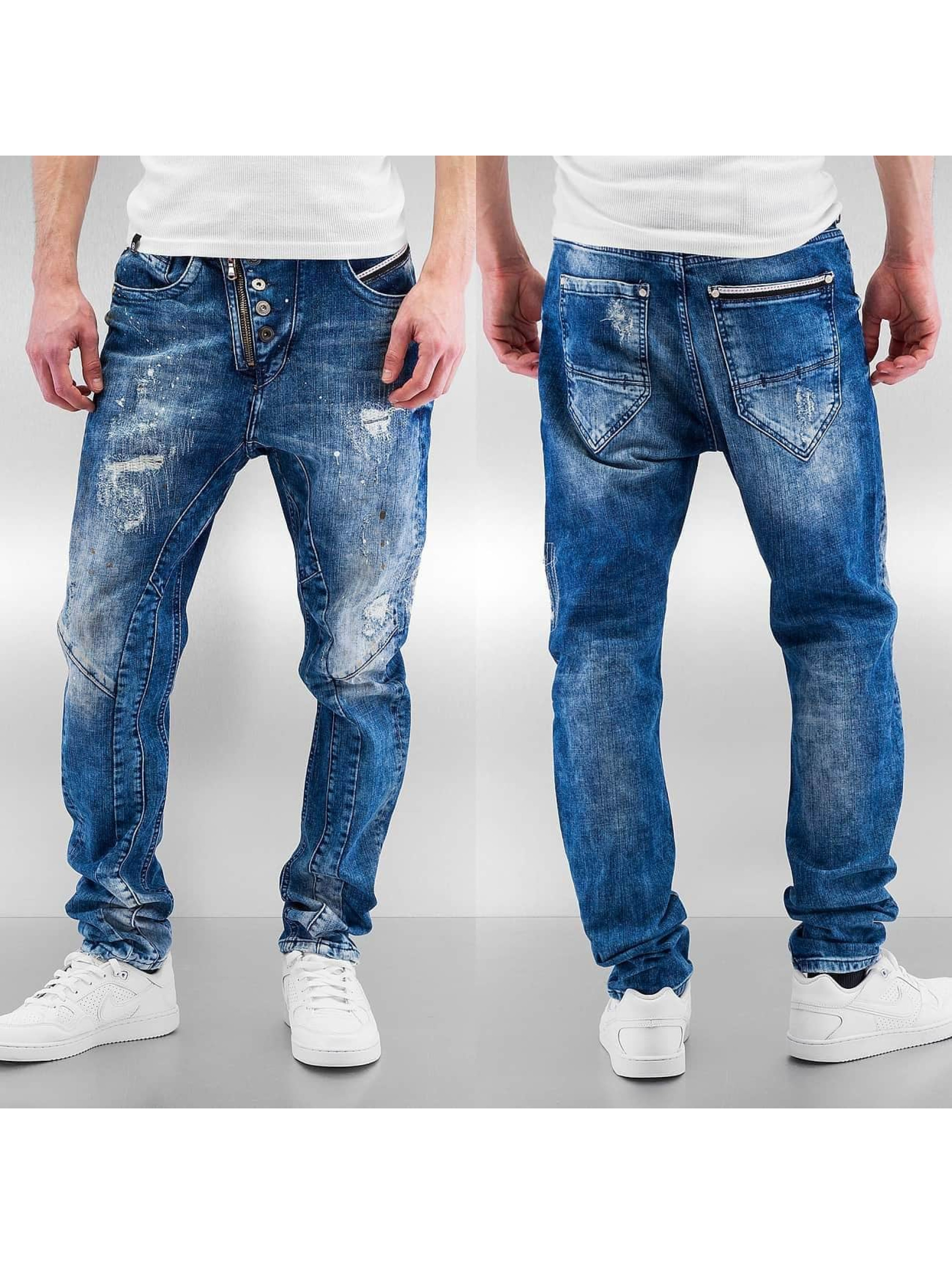 Cipo & Baxx Straight fit jeans Assisi blauw