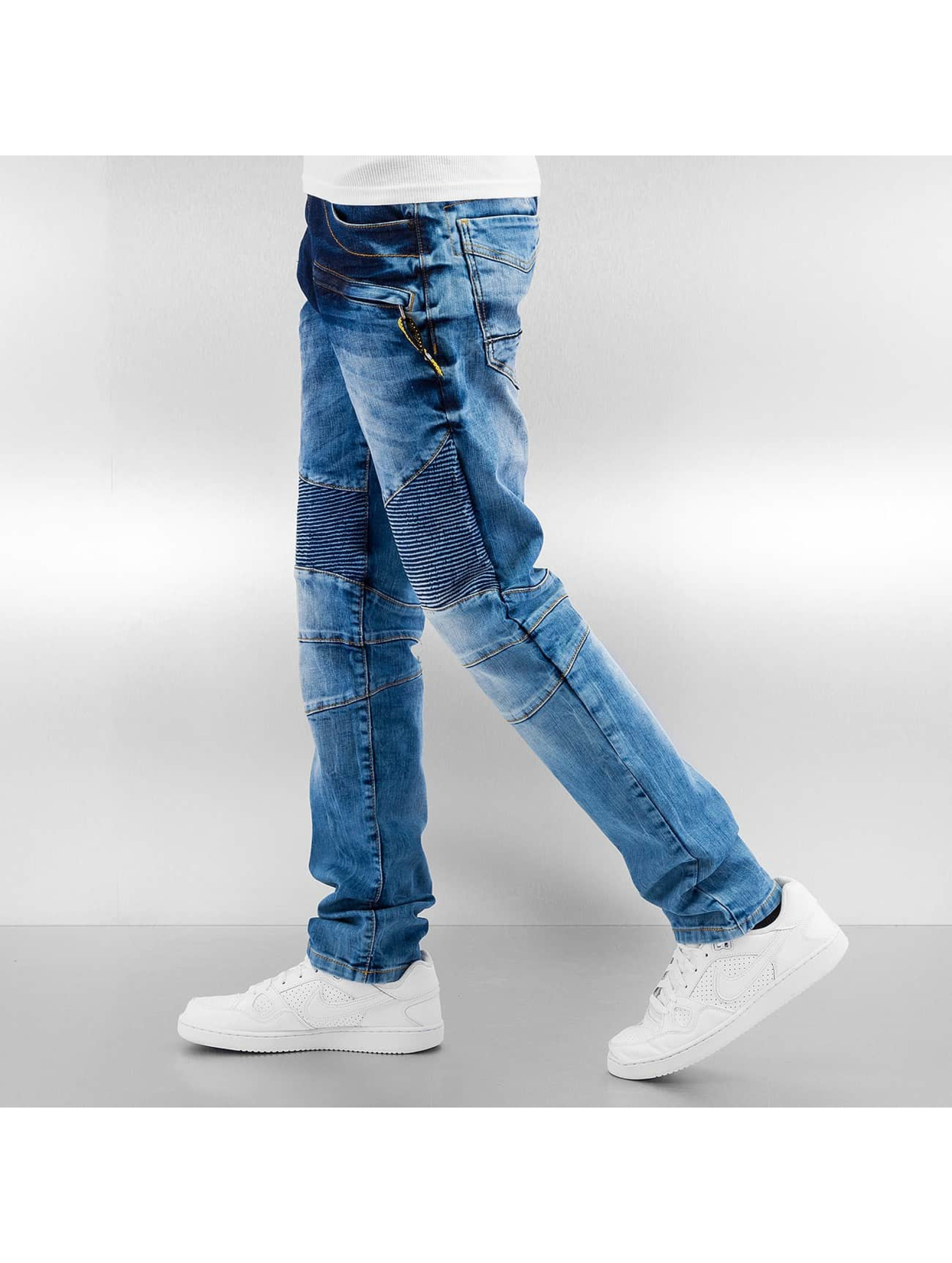 Cipo & Baxx Straight fit jeans Cadis blauw