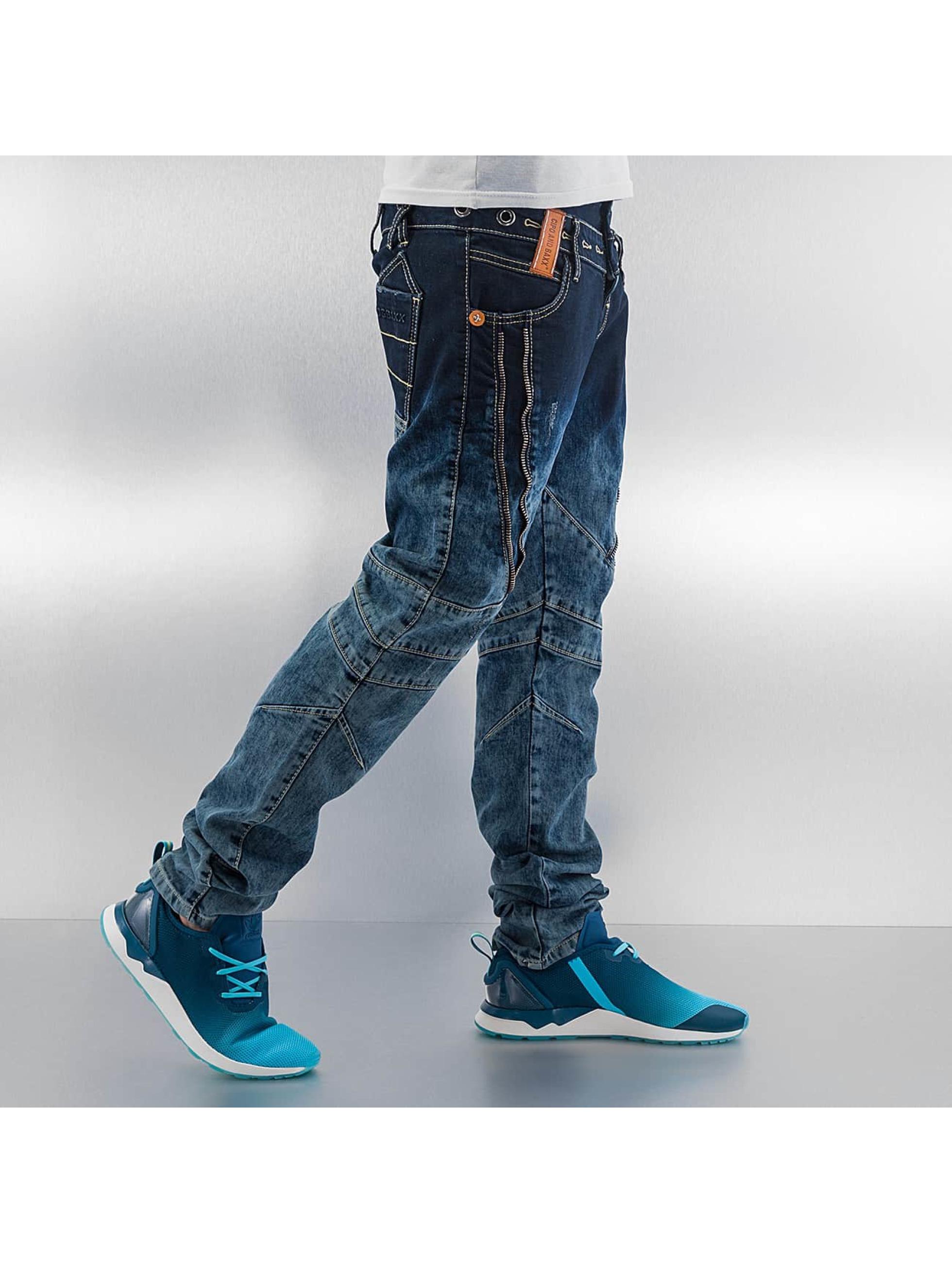 Cipo & Baxx Straight fit jeans Elias blauw