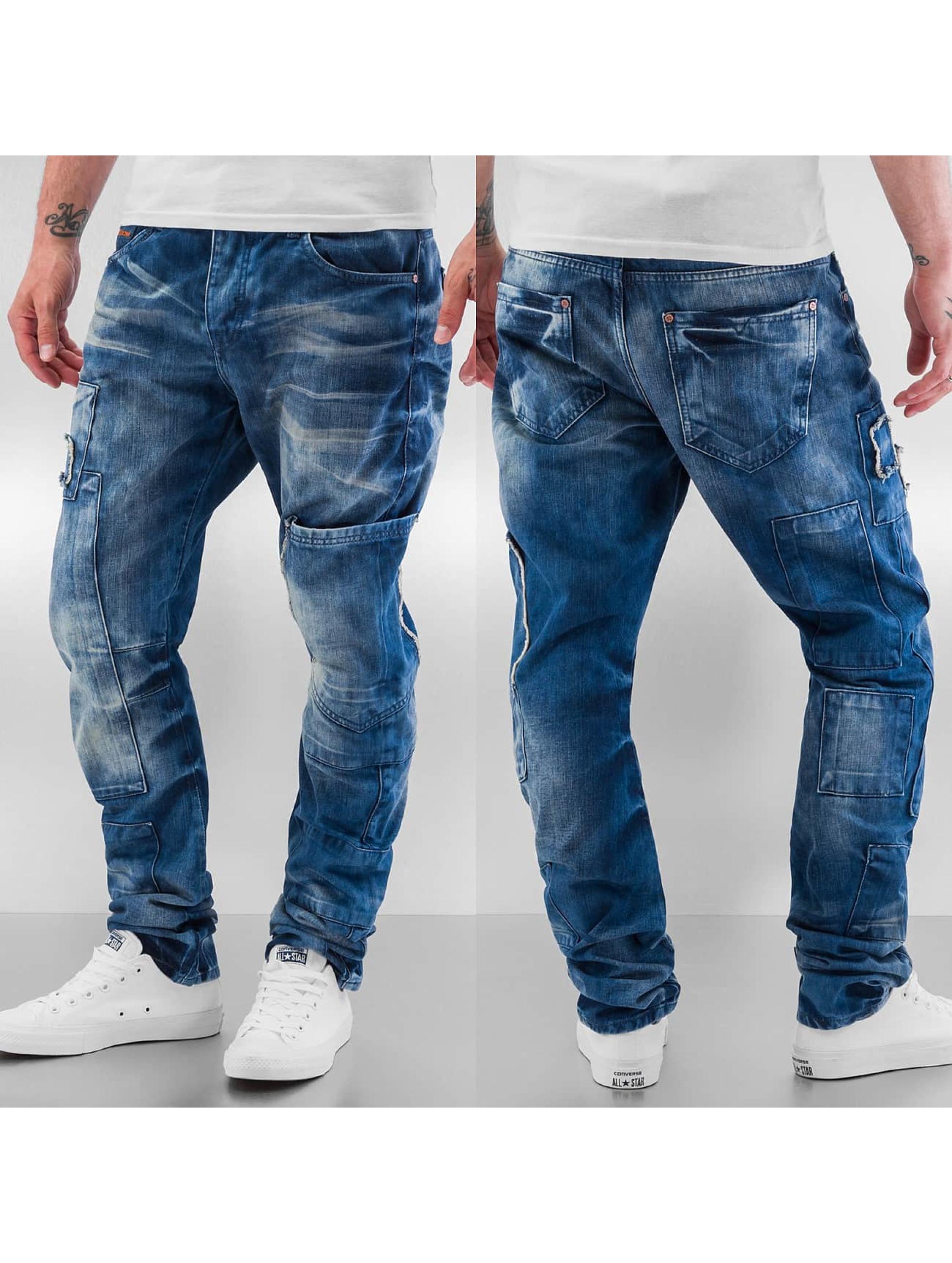 Cipo & Baxx Straight fit jeans Tajo blauw