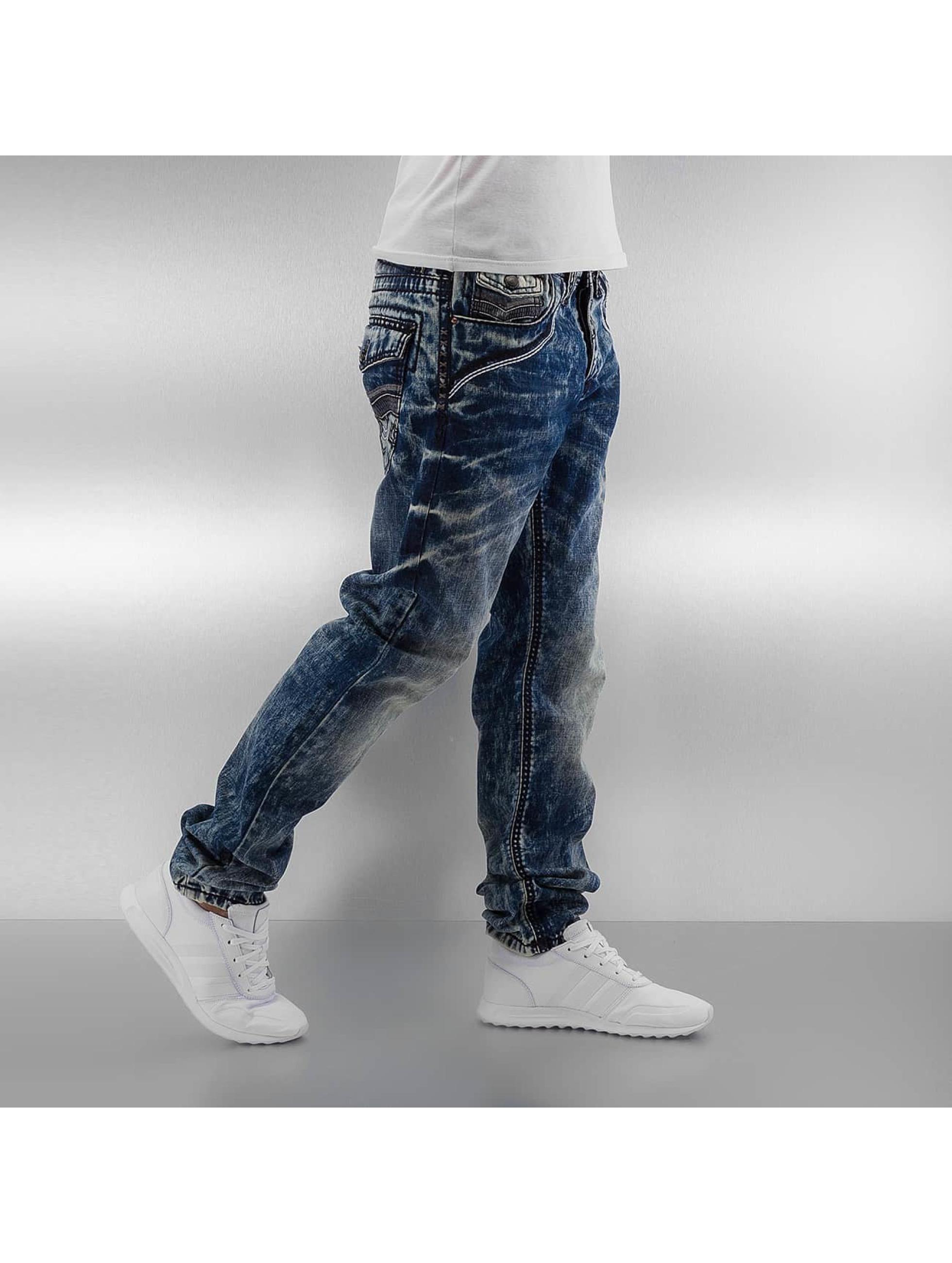 Cipo & Baxx Straight fit jeans Jari blauw