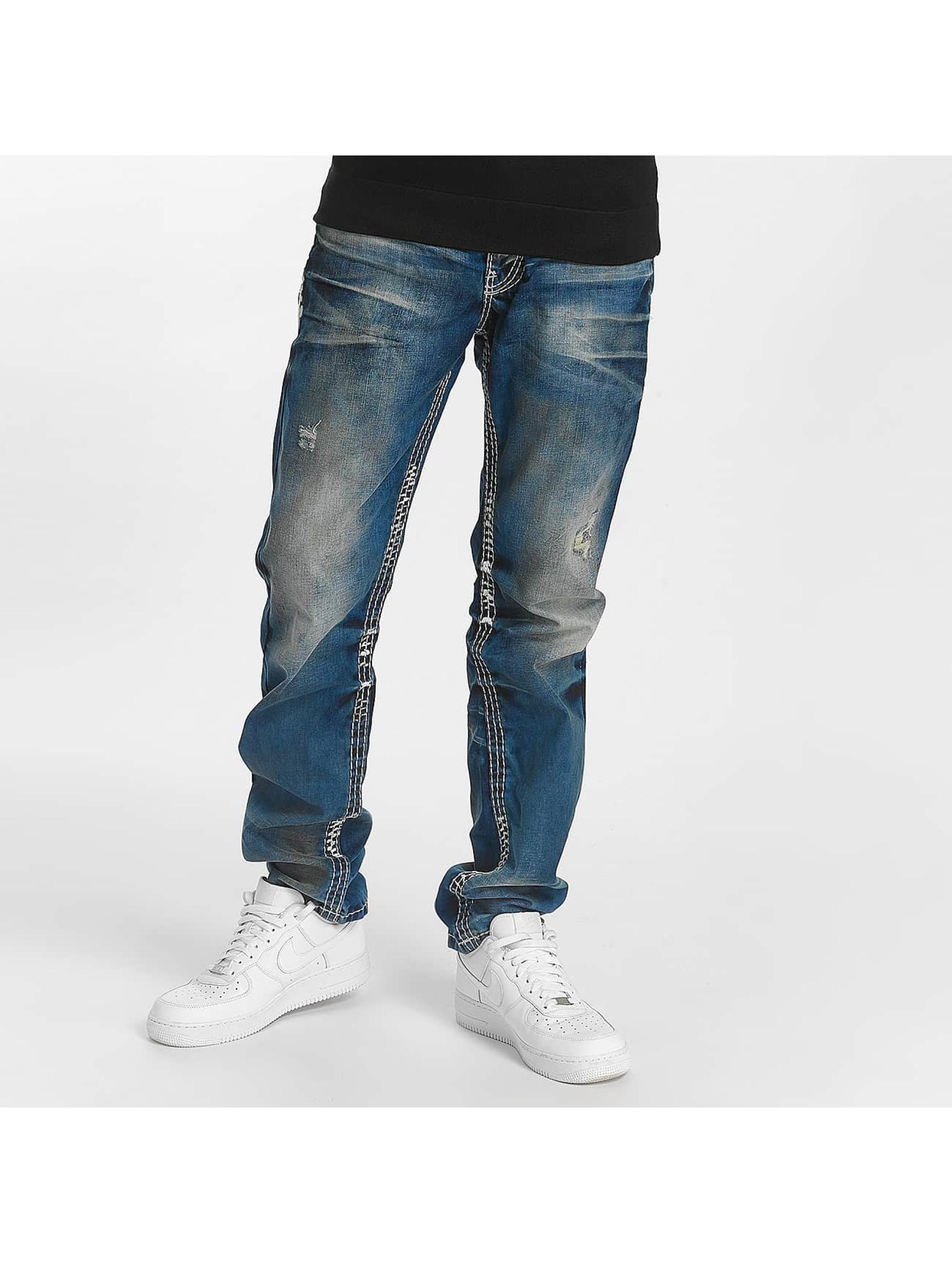 Cipo & Baxx Straight fit jeans Straight blauw