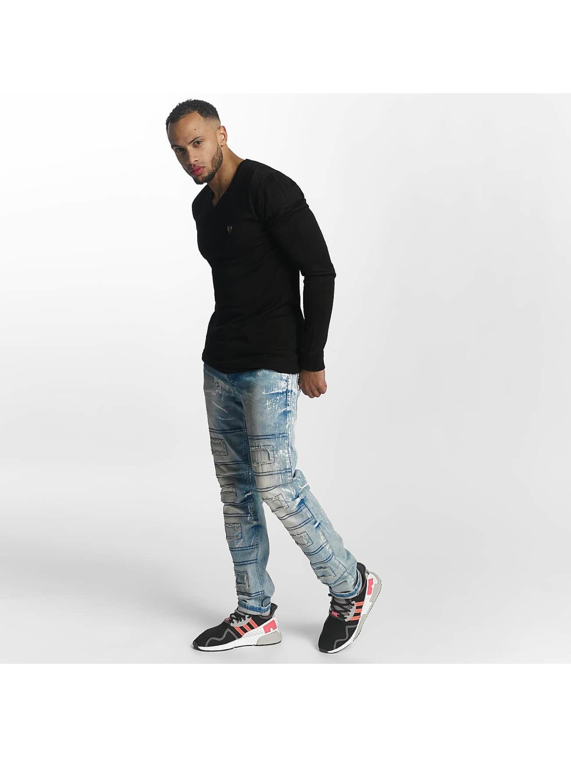Cipo & Baxx Straight fit jeans Louis blauw