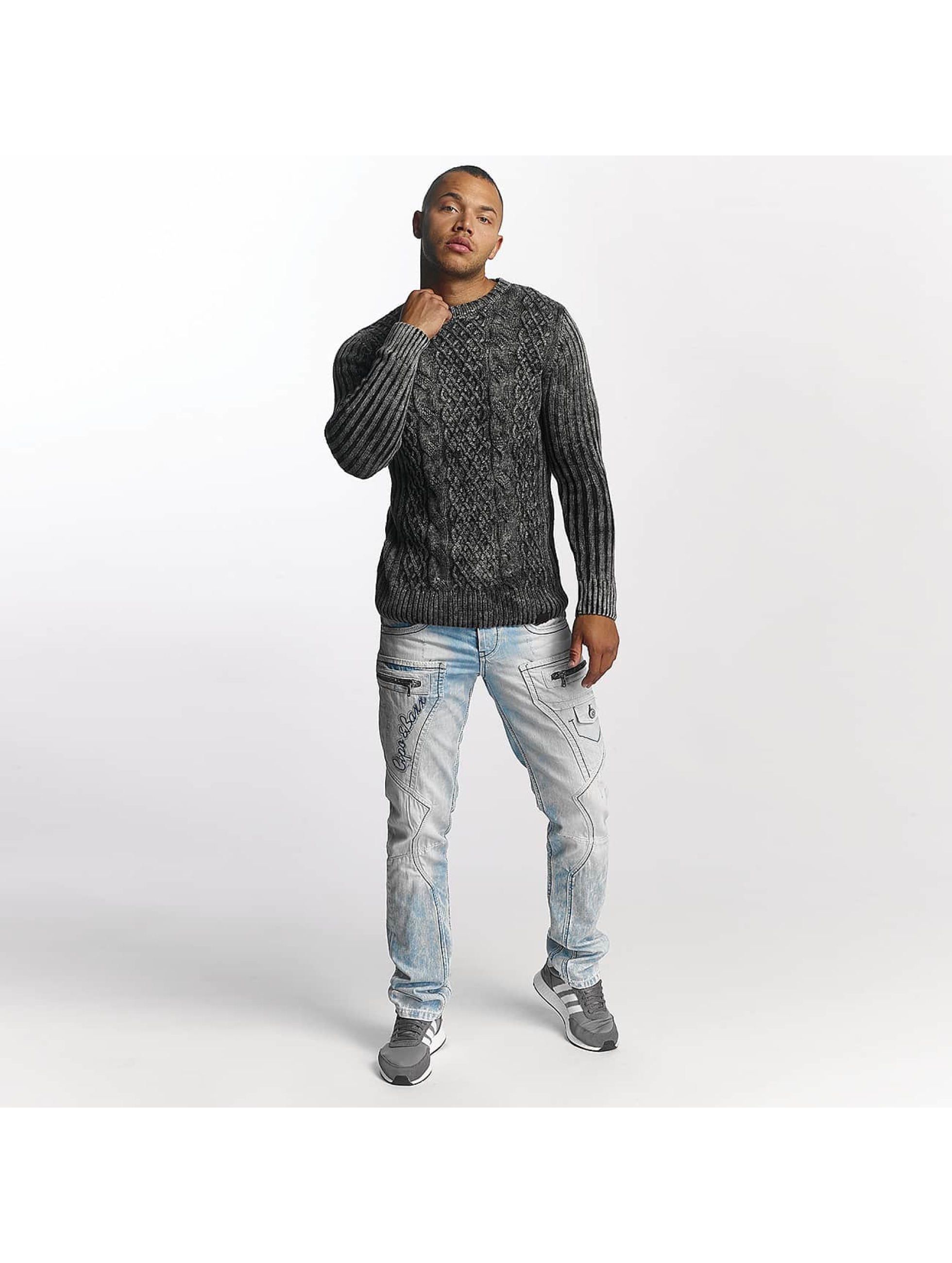 Cipo & Baxx Straight fit jeans James blauw