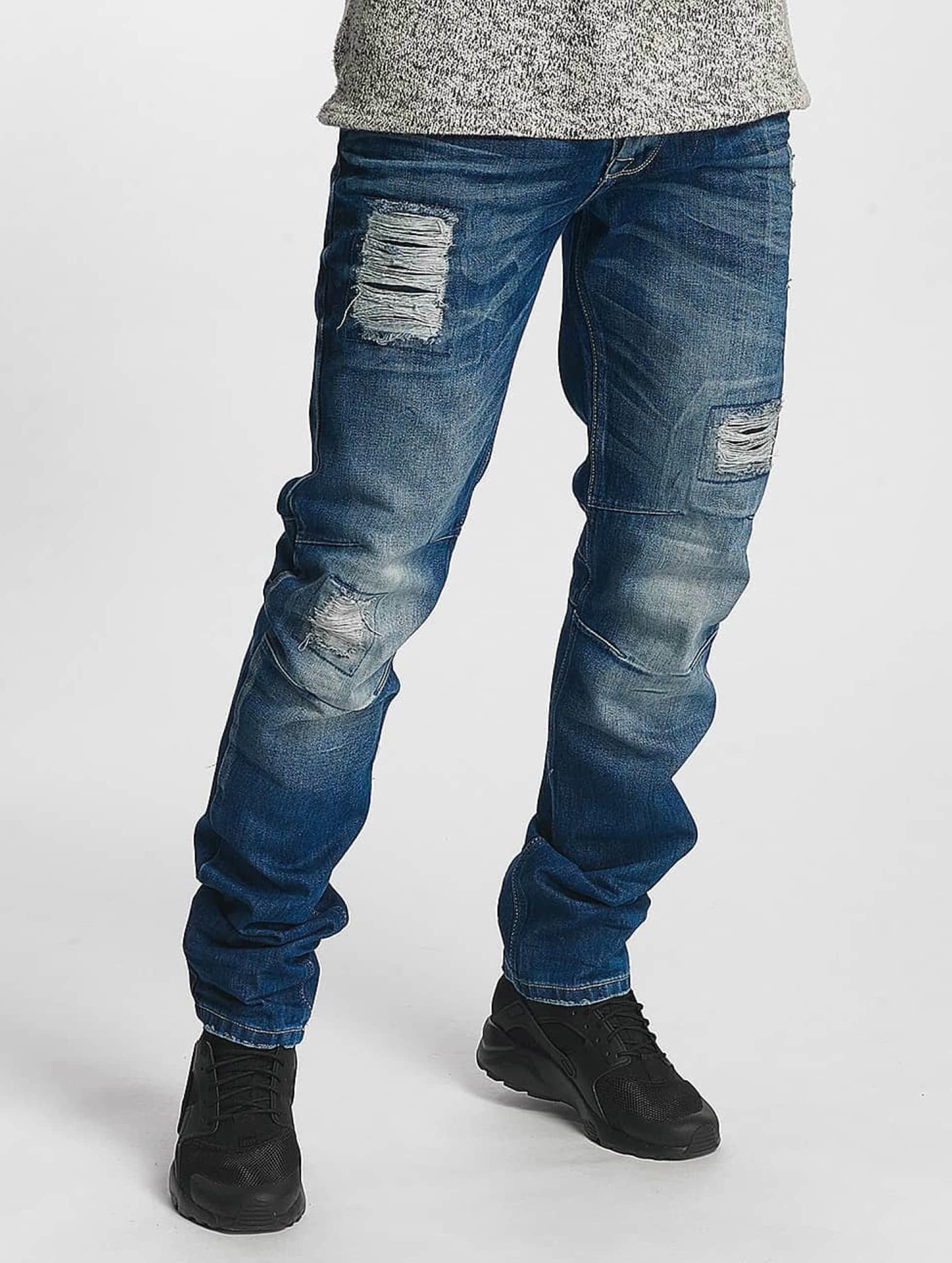 Cipo & Baxx Straight fit jeans Lentz blauw