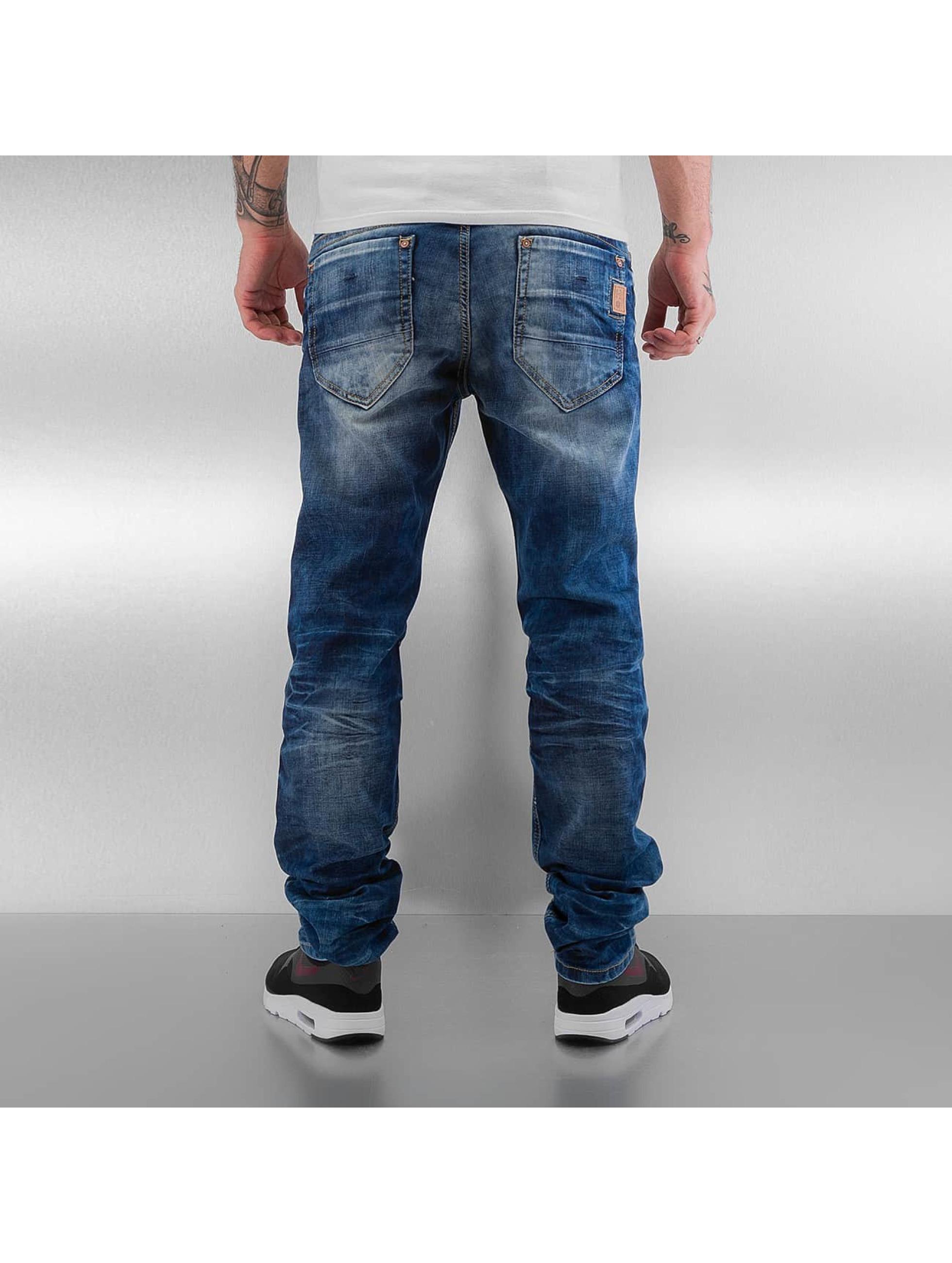 Cipo & Baxx Straight Fit Jeans Gipar blue