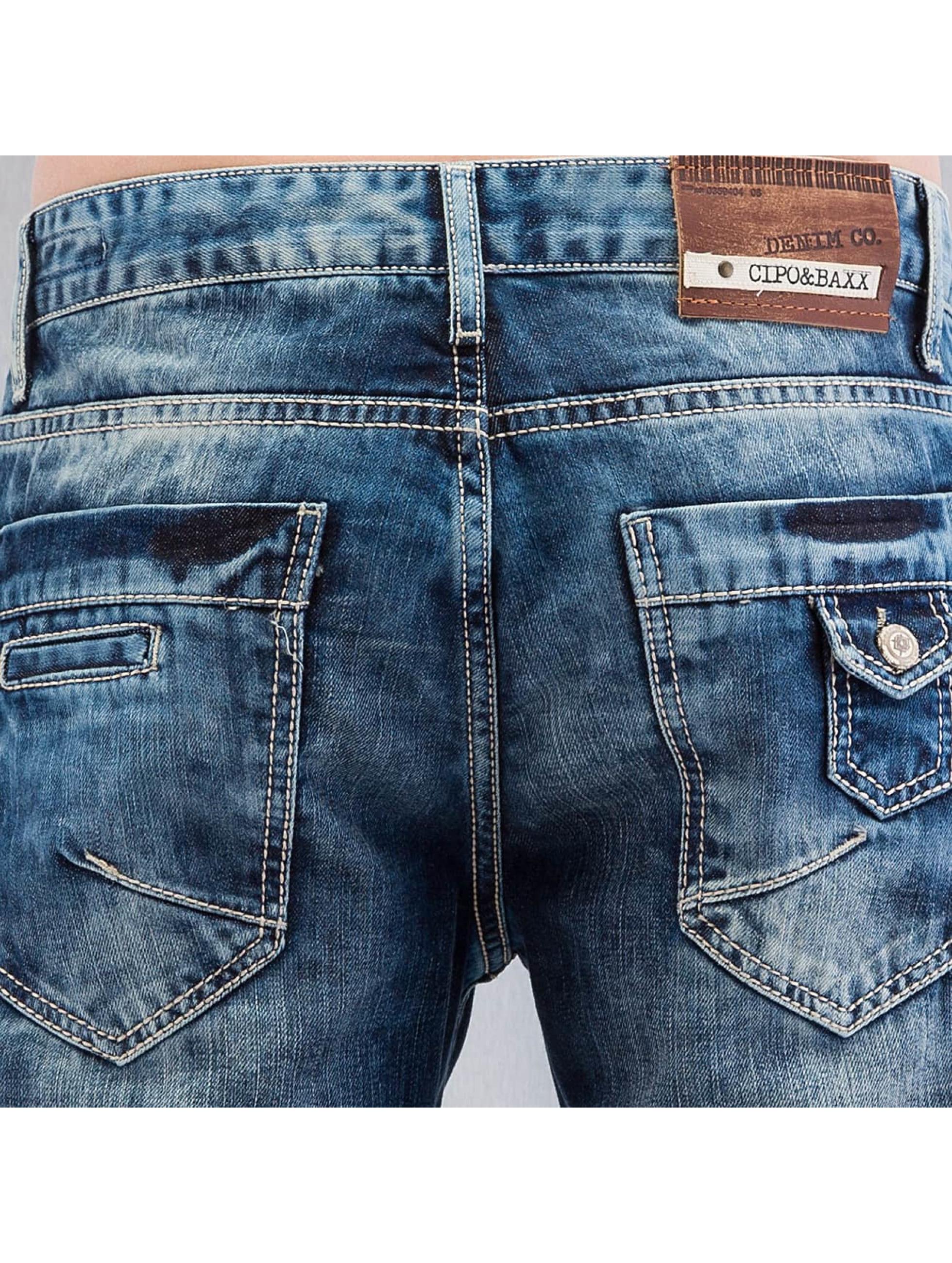 Cipo & Baxx Straight Fit Jeans Stevenage blue