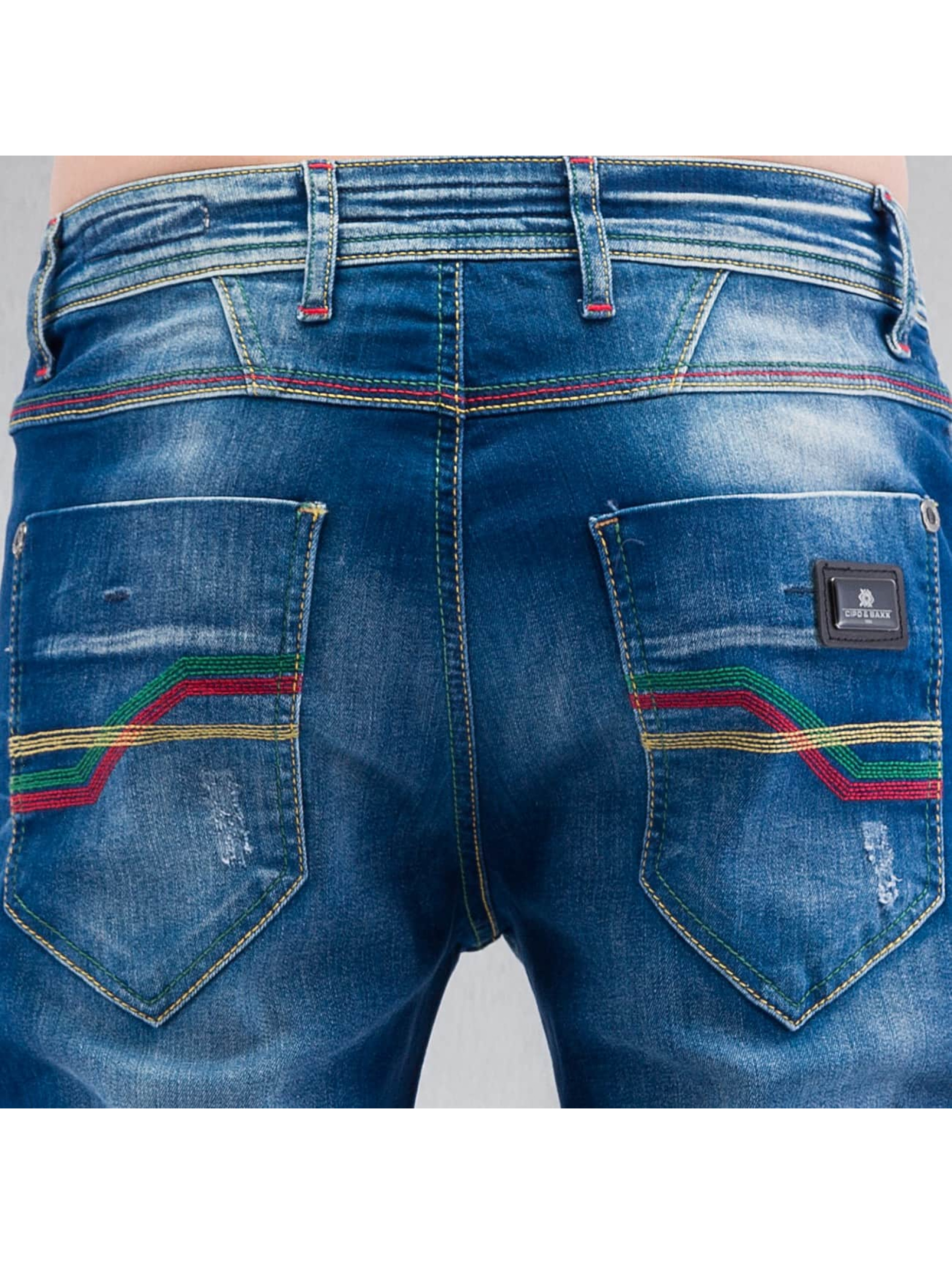 Cipo & Baxx Straight Fit Jeans Swindon blue