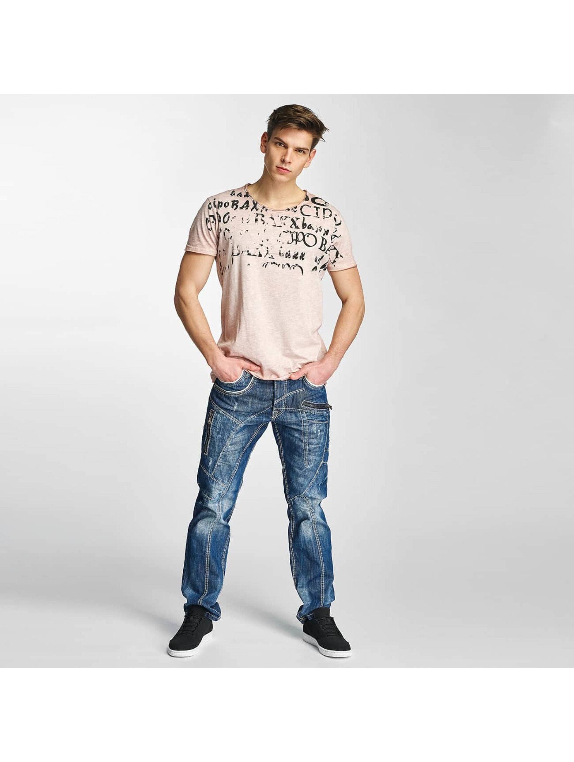 Cipo & Baxx Straight Fit Jeans Jarule blue