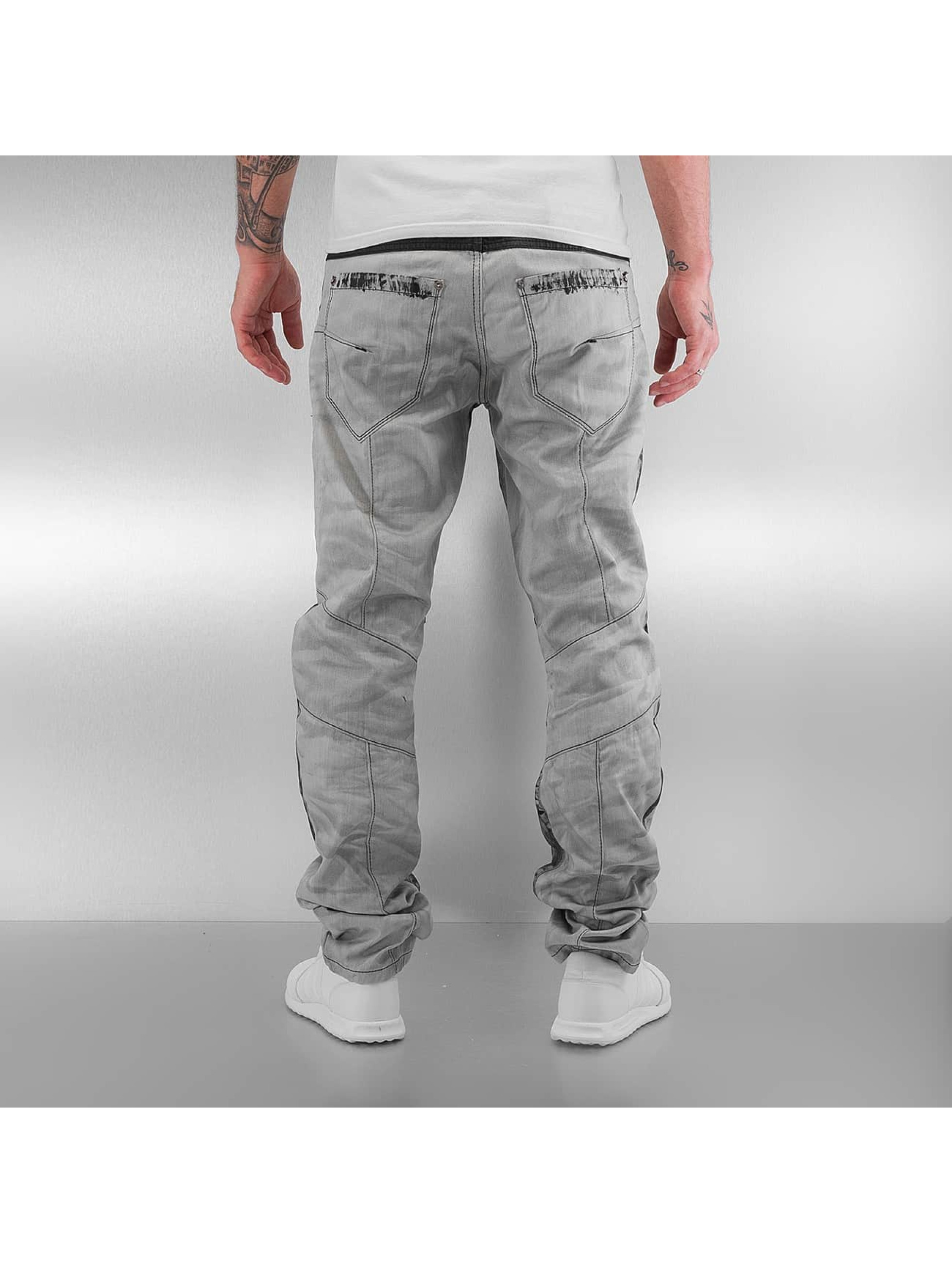 Cipo & Baxx Straight Fit Jeans Kobbi grau