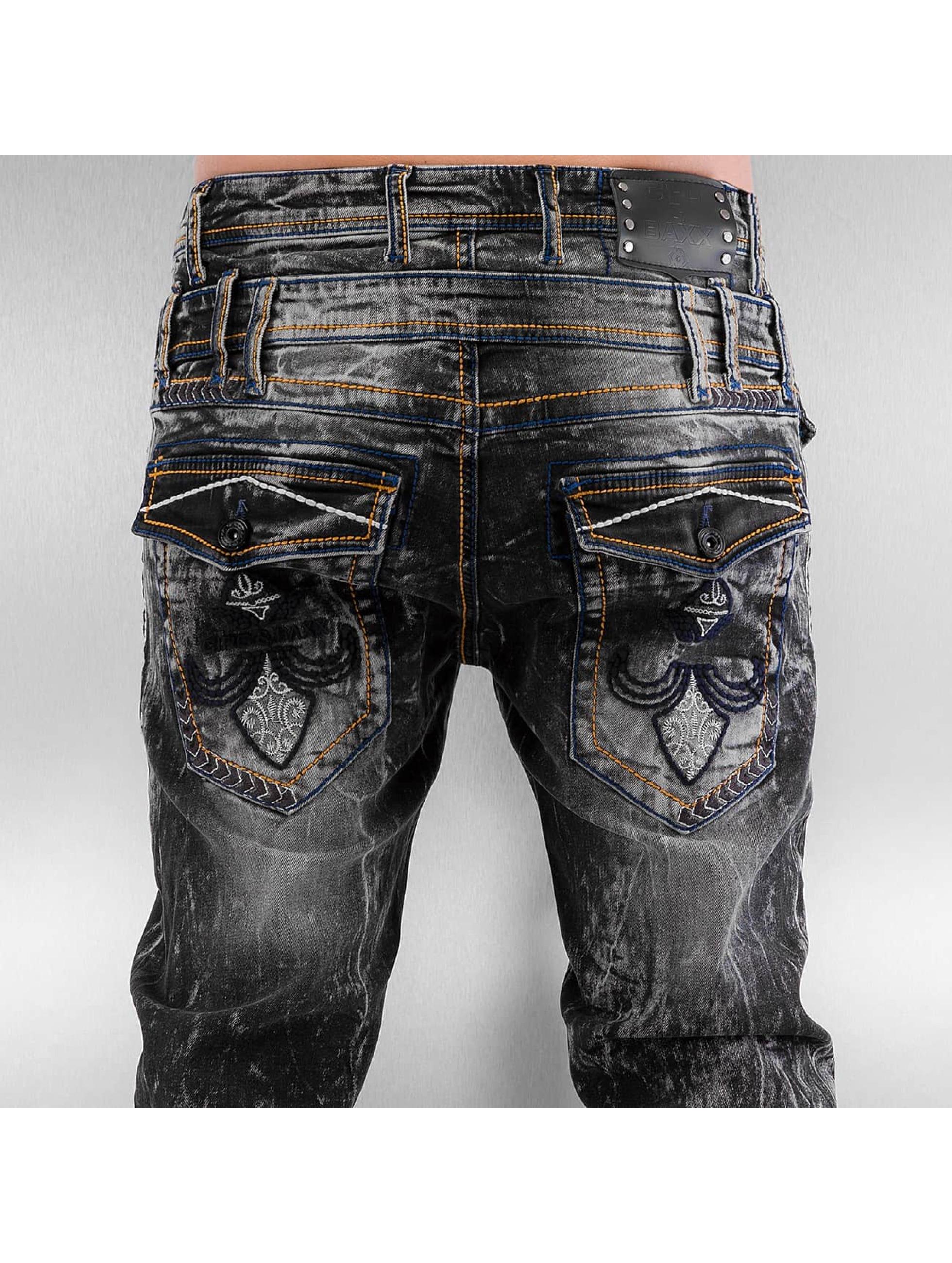 Cipo & Baxx Straight Fit Jeans Lifri grey