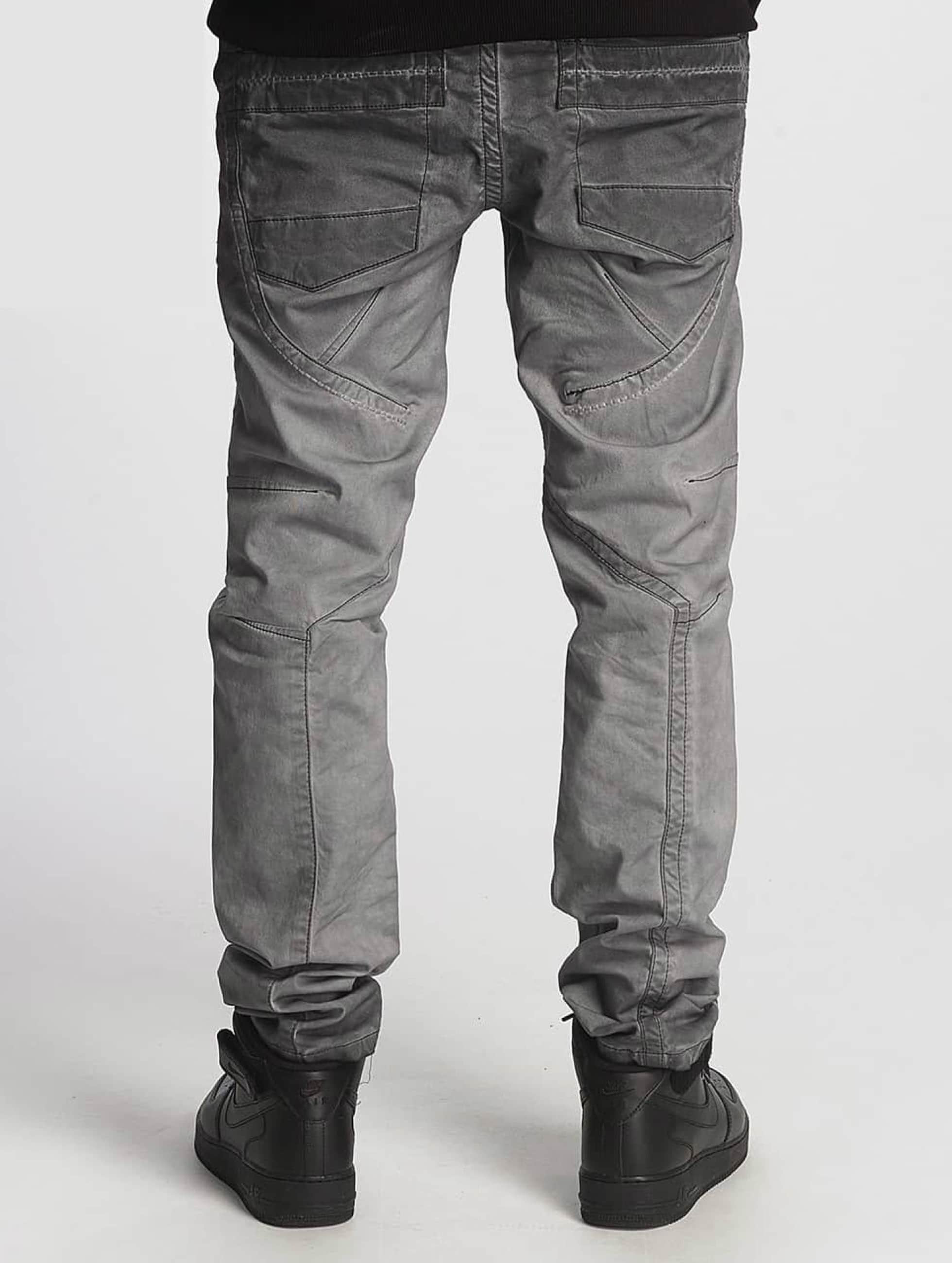 Cipo & Baxx Straight fit jeans Straight Fit grijs
