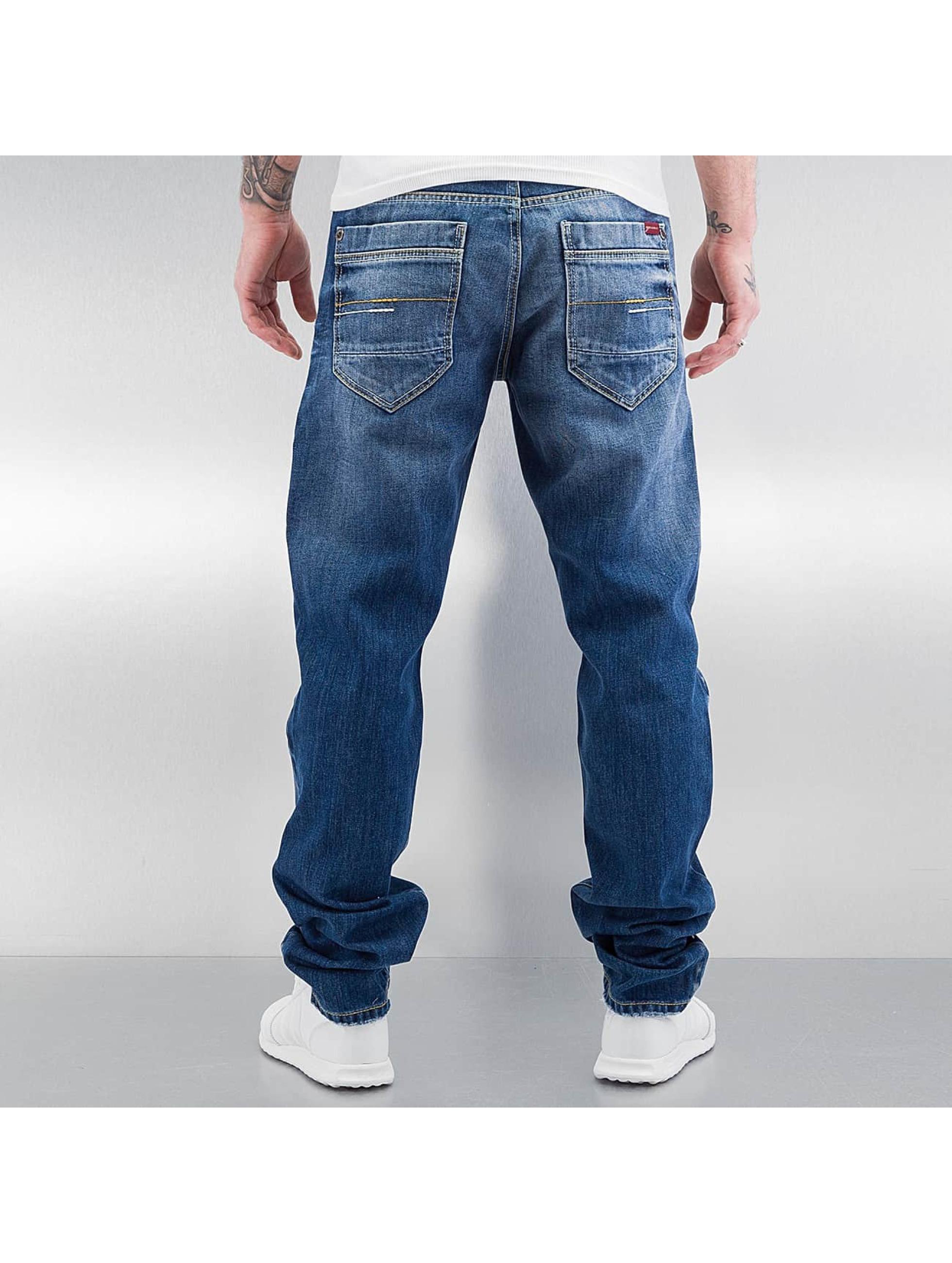 Cipo & Baxx Straight Fit Jeans Oldham mavi