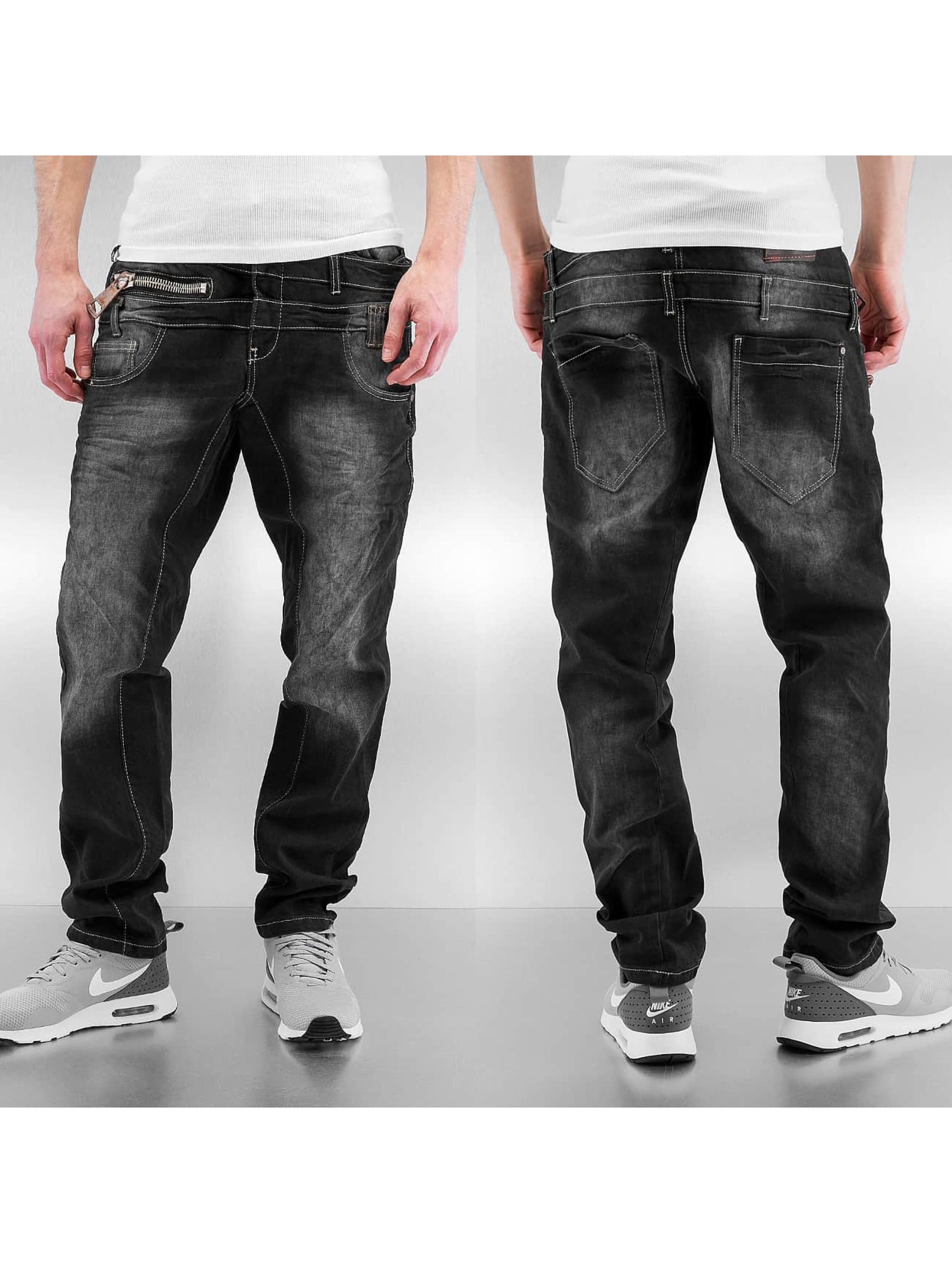 Cipo & Baxx Straight Fit Jeans Galway svart