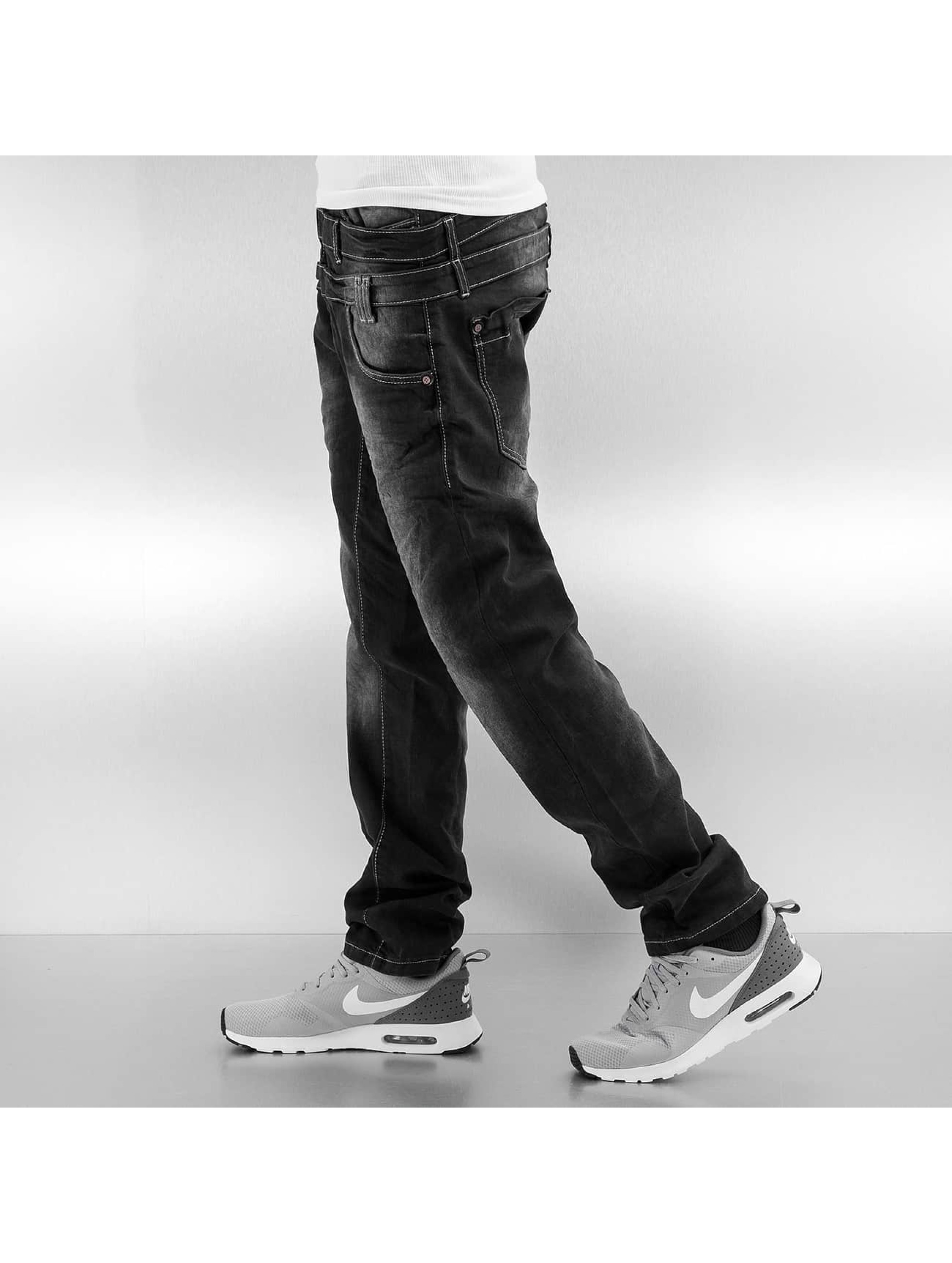 Cipo & Baxx Straight fit jeans Galway zwart