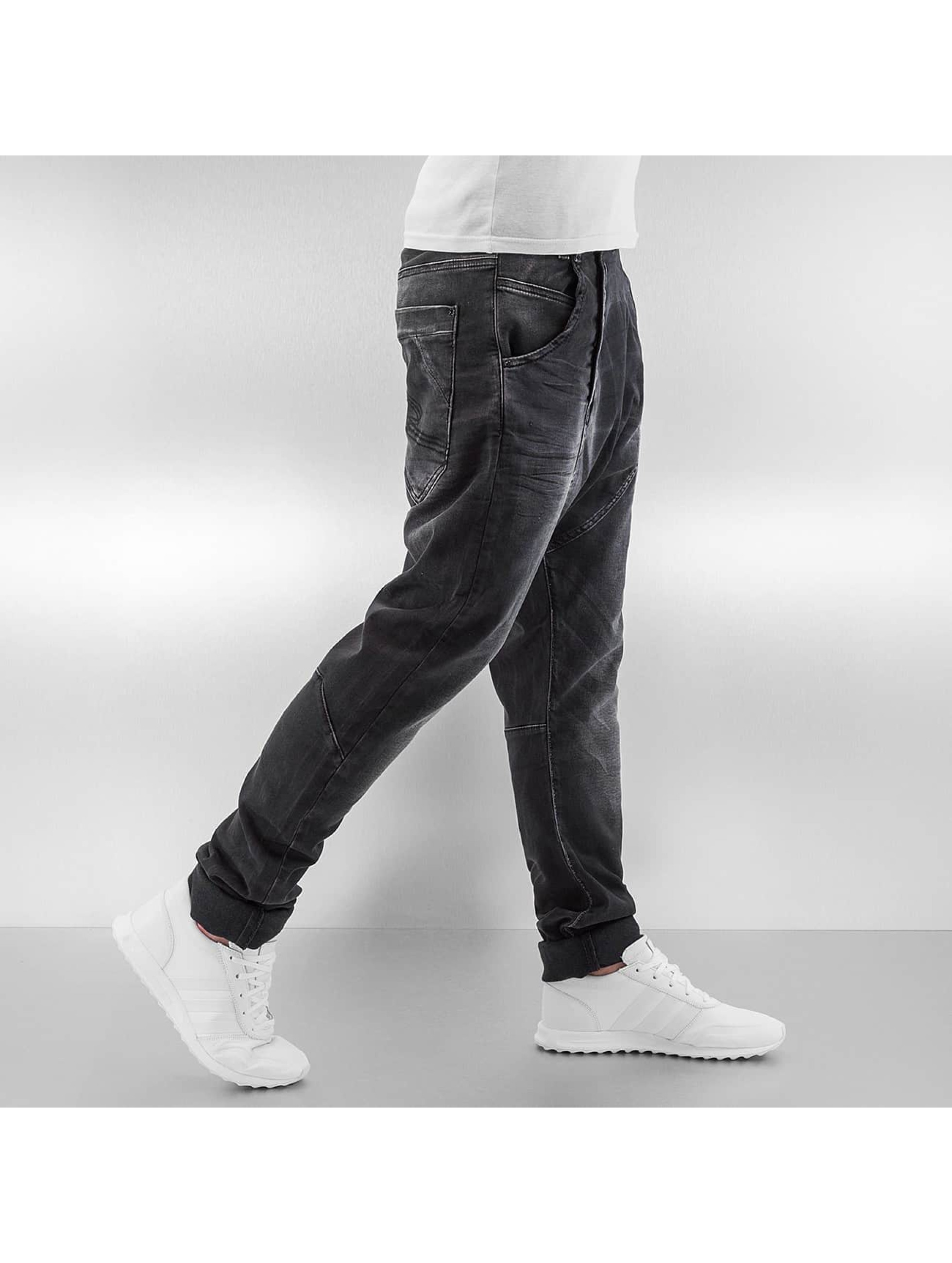 Cipo & Baxx Straight fit jeans Memel zwart