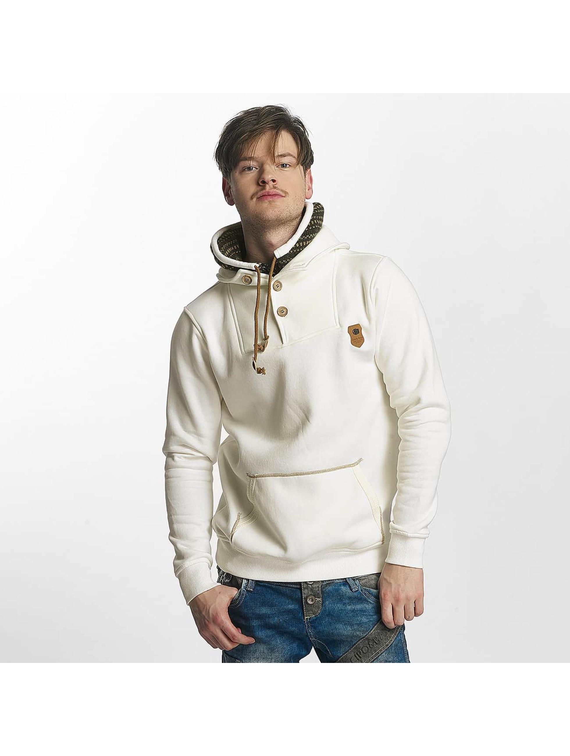 Cipo & Baxx Sweat & Pull Double Collar beige