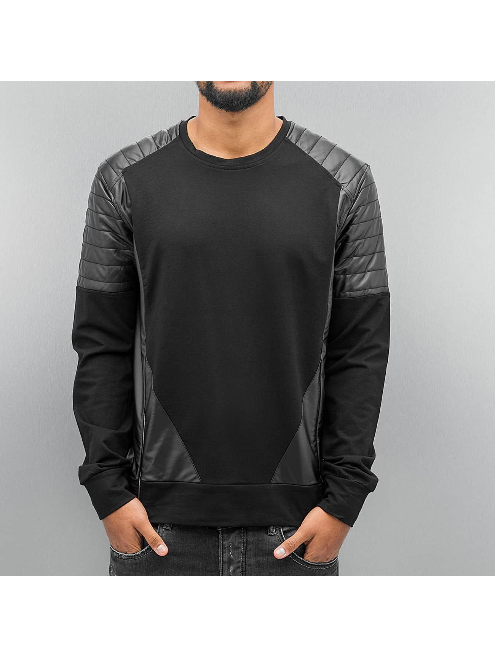 Cipo & Baxx Swetry Sweatshirt czarny