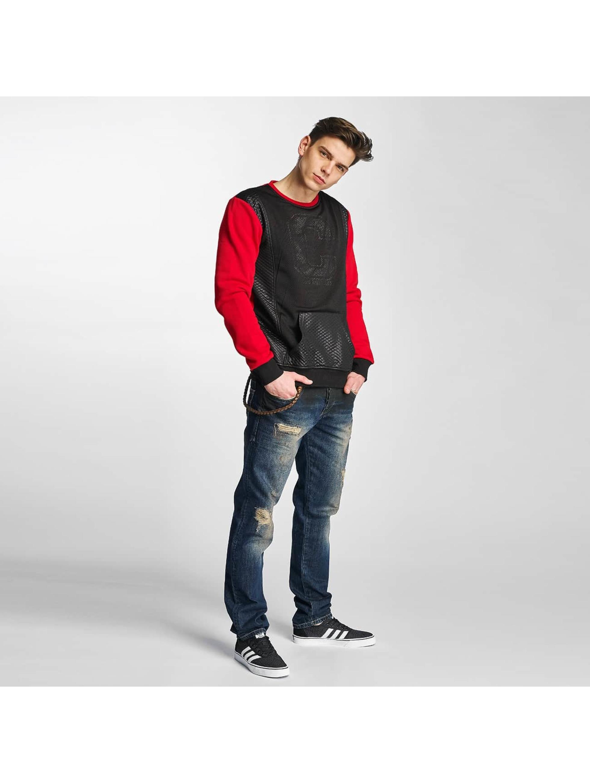 Cipo & Baxx Swetry Niam czerwony