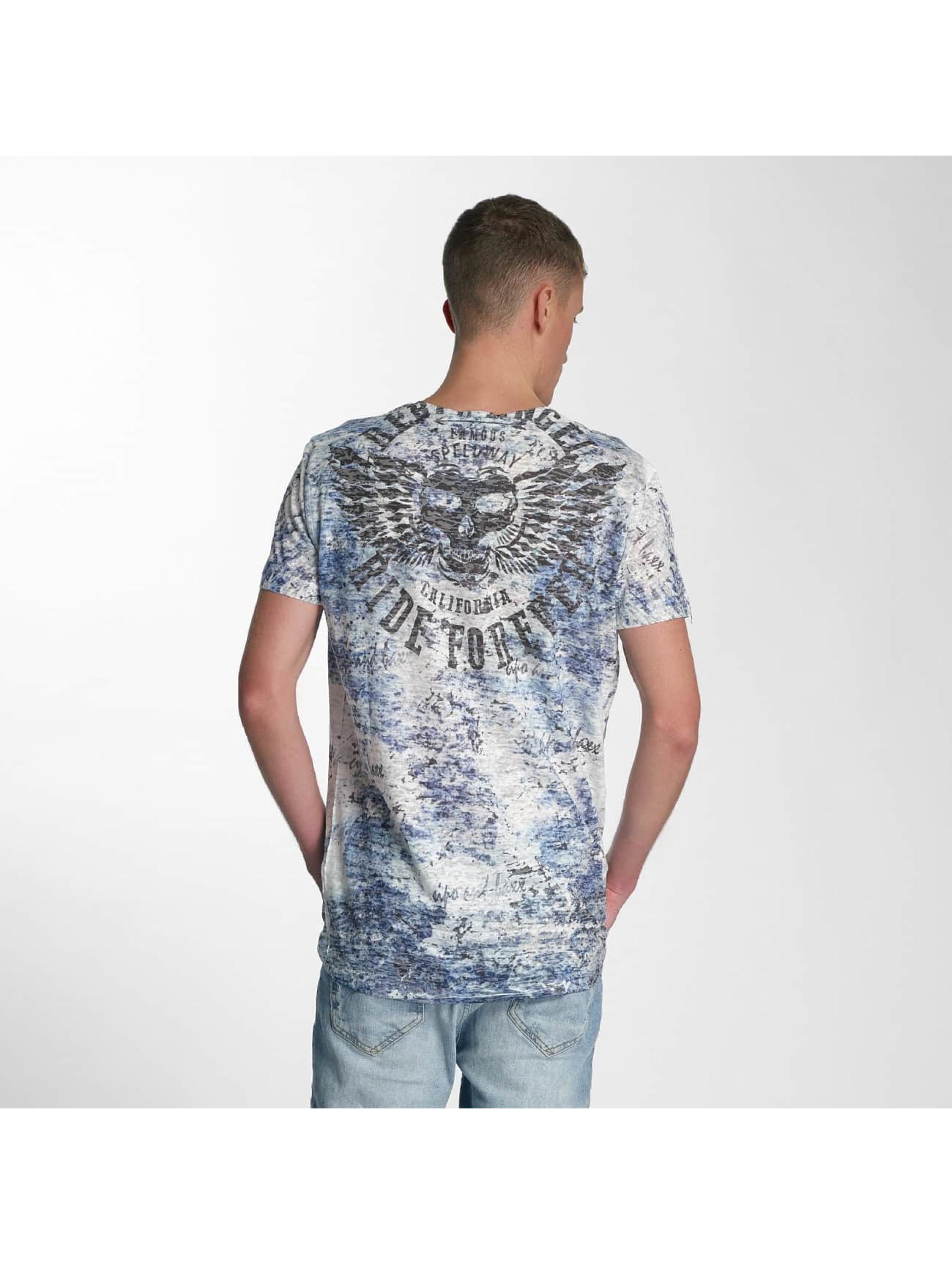 Cipo & Baxx T-shirt Ride Forever blu