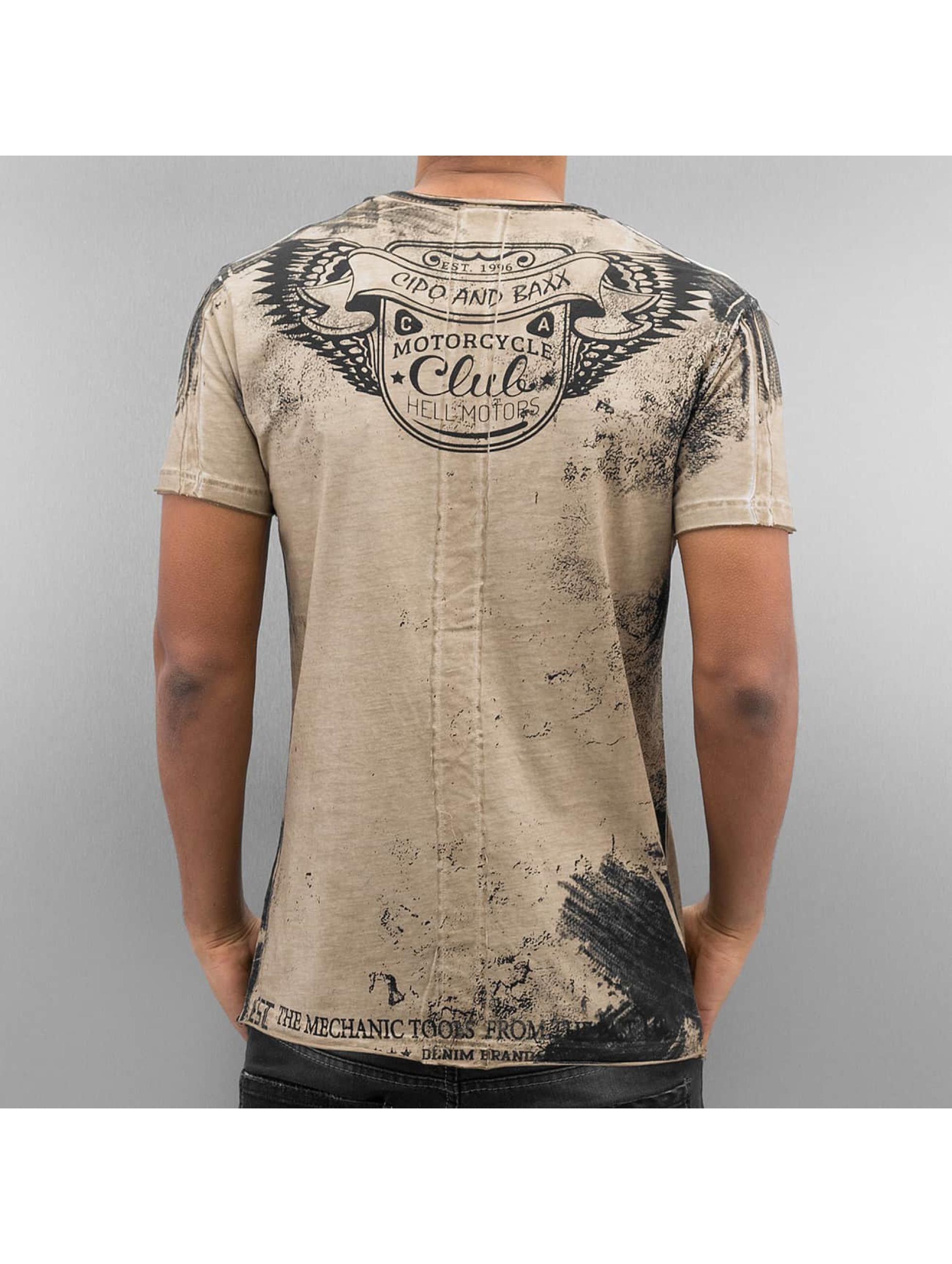 Cipo & Baxx T-Shirt Mackay brown
