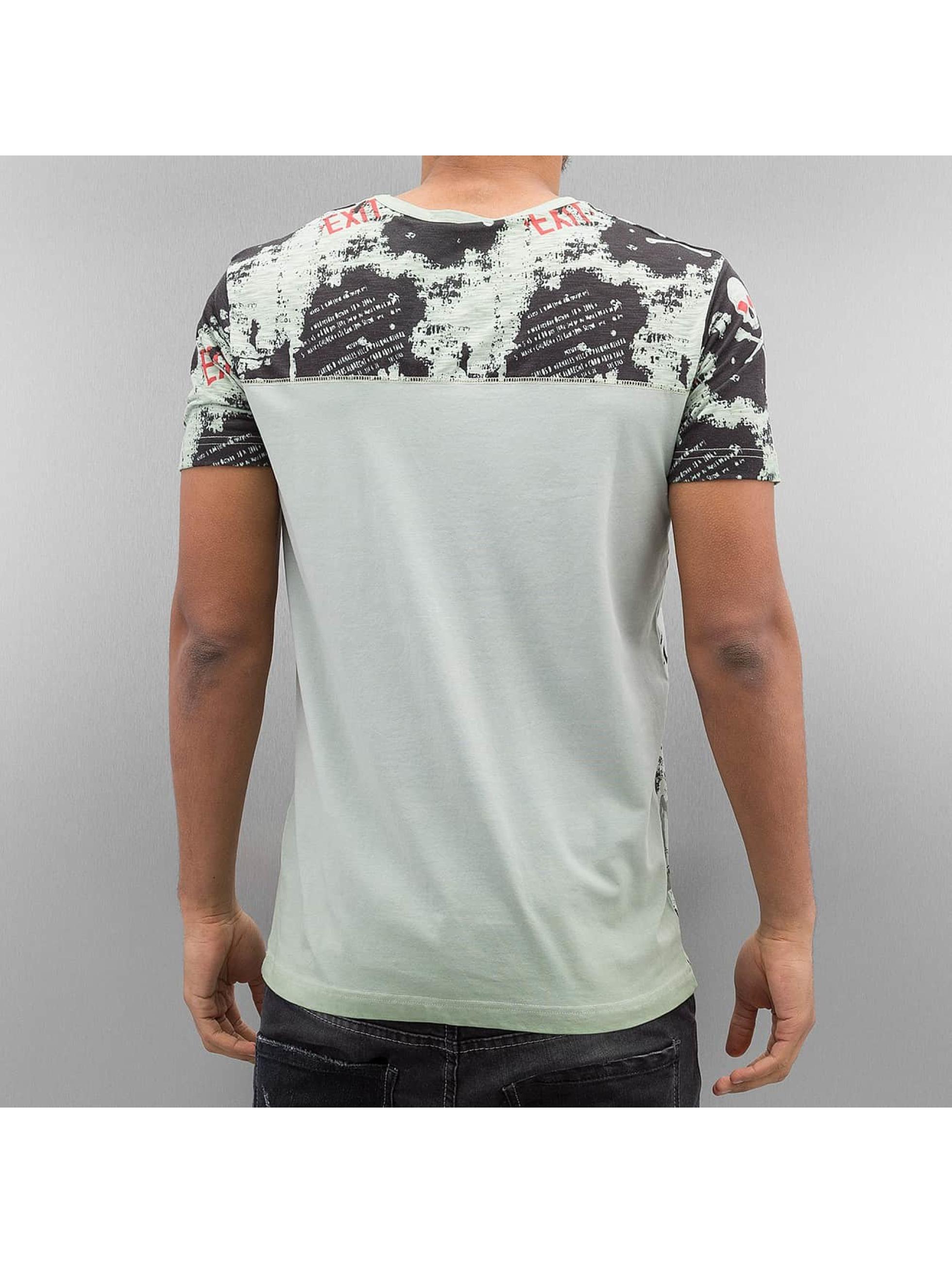 Cipo & Baxx T-Shirt Wildbeauty green