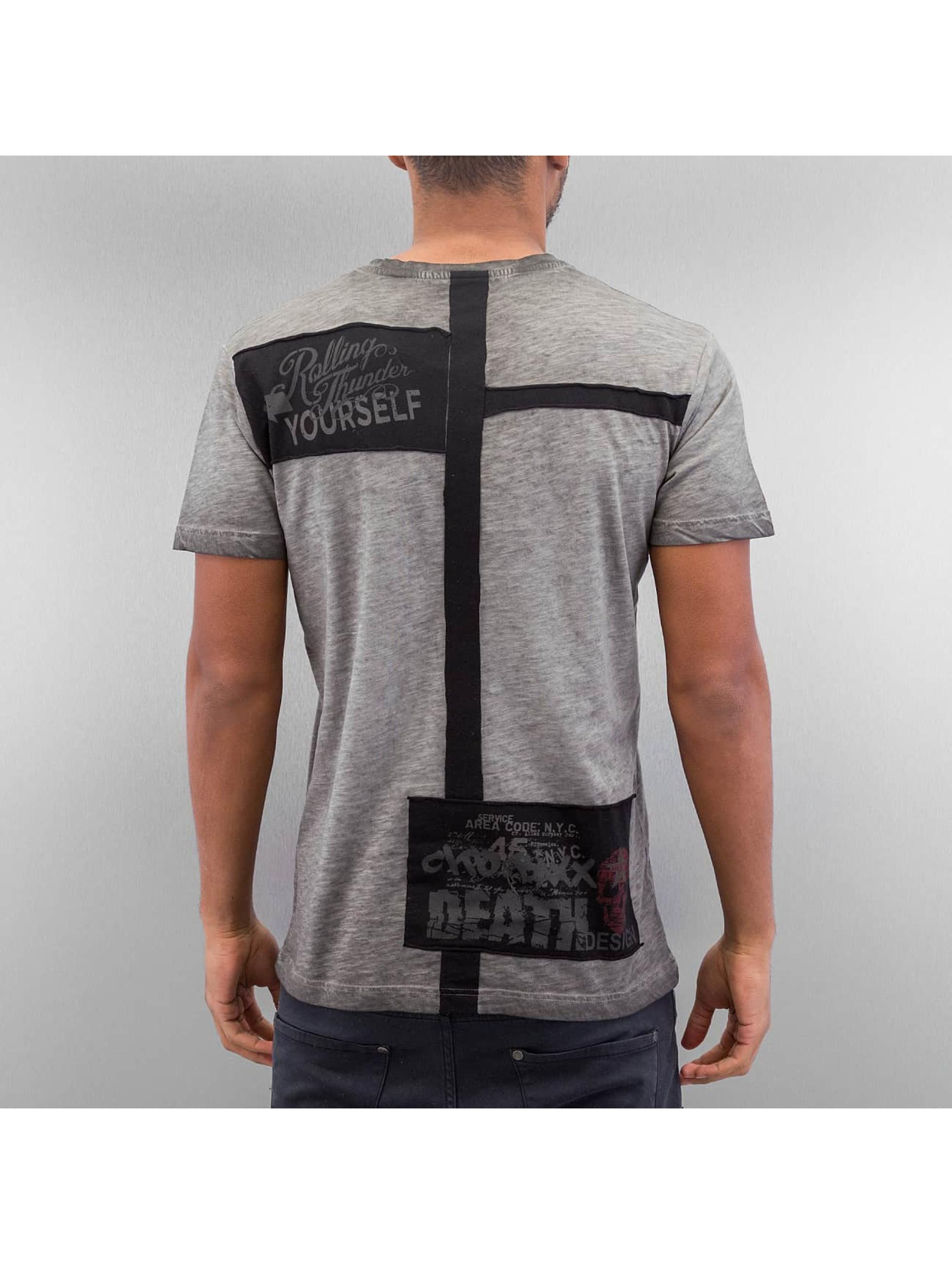 Cipo & Baxx t-shirt Leif grijs