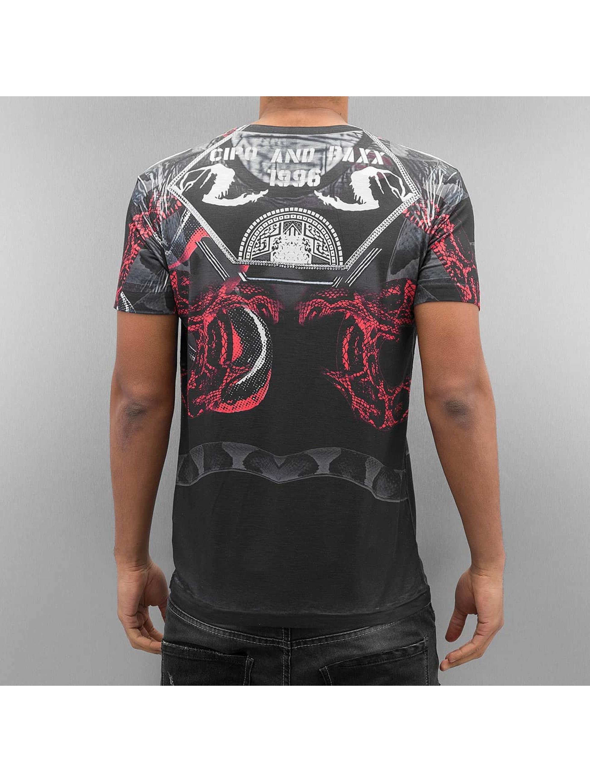 Cipo & Baxx T-Shirt Karratha schwarz