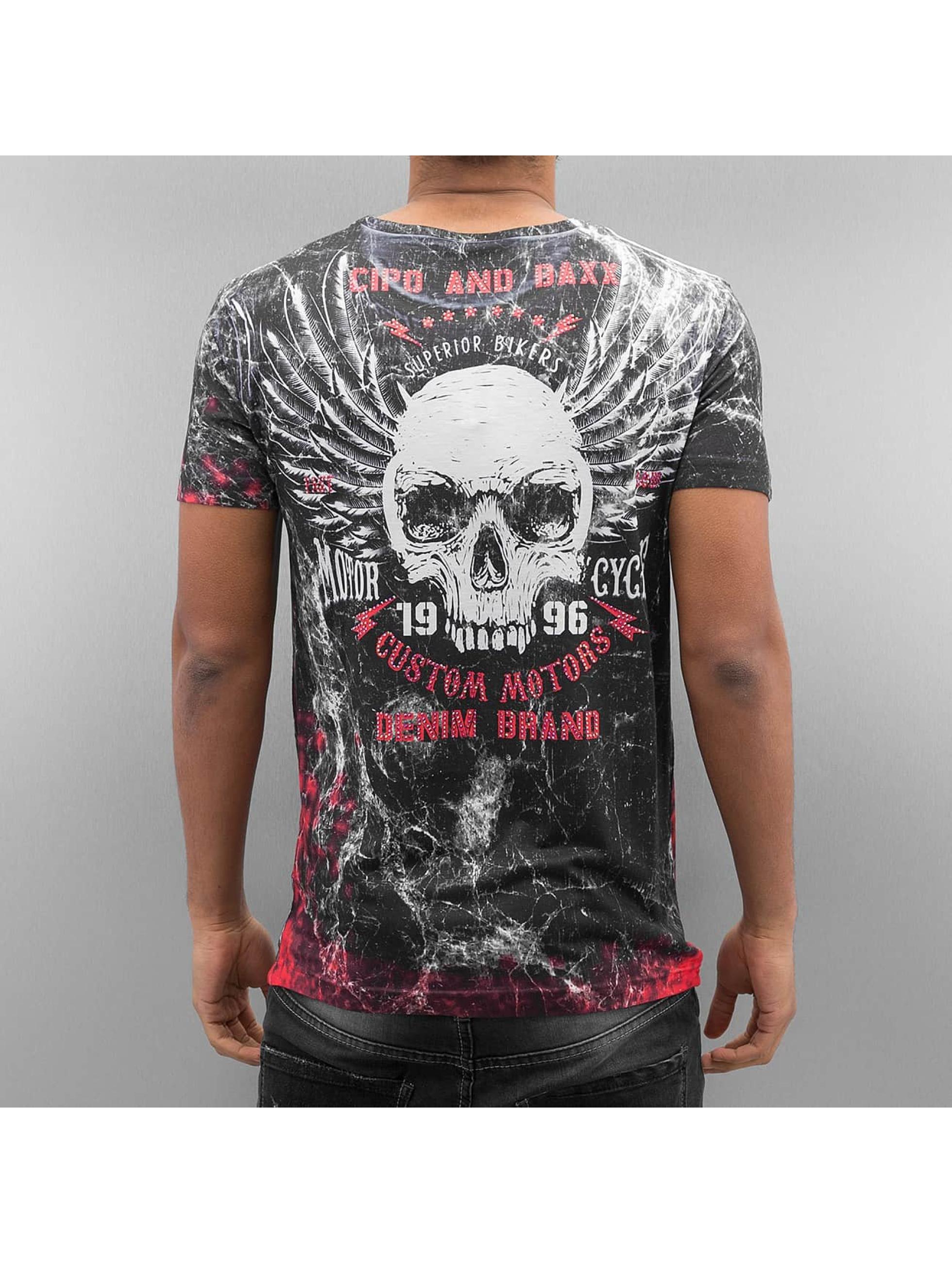 Cipo & Baxx T-Shirt Rolling Thunder schwarz