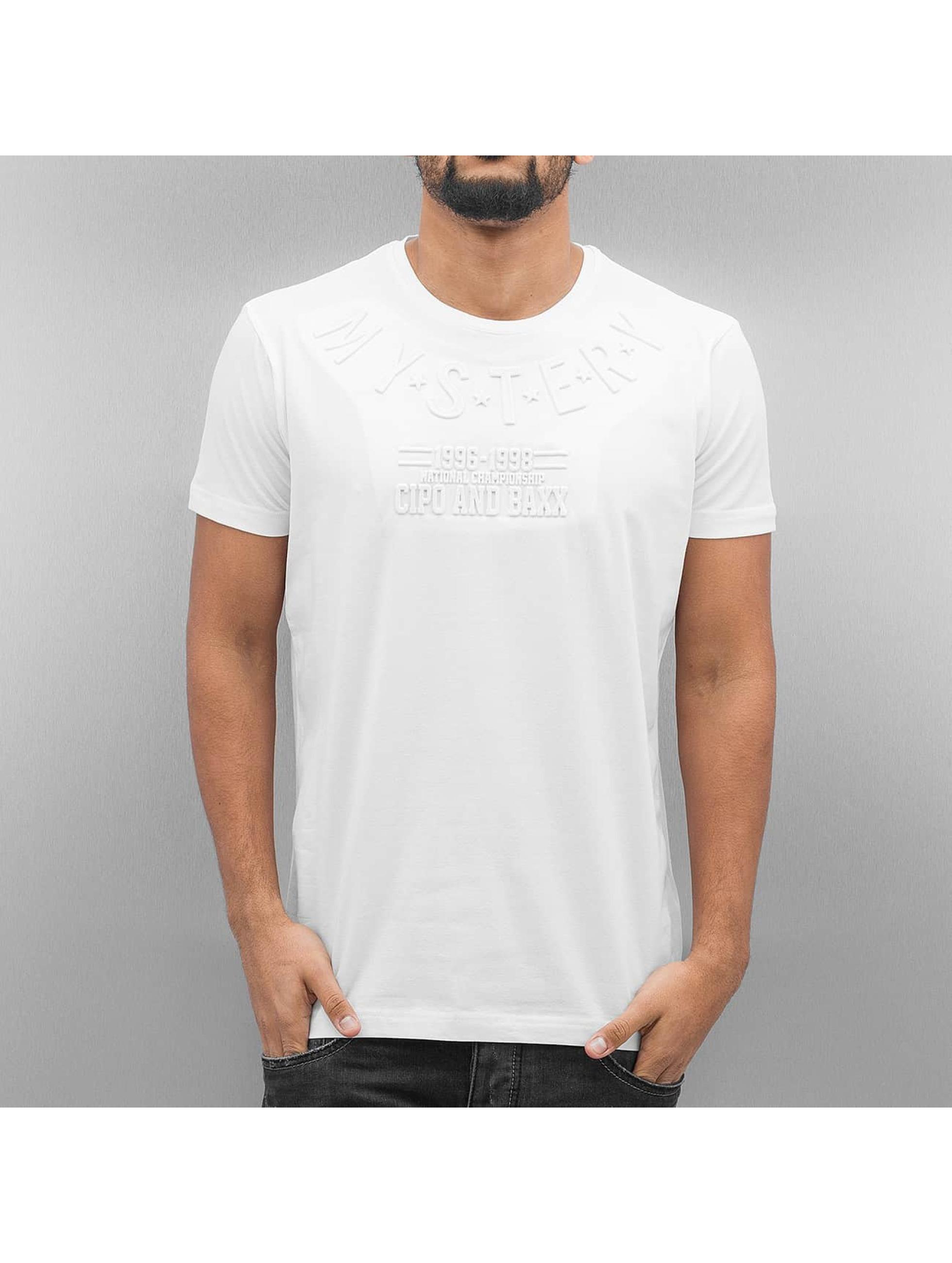 Cipo & Baxx T-Shirt Mystery weiß