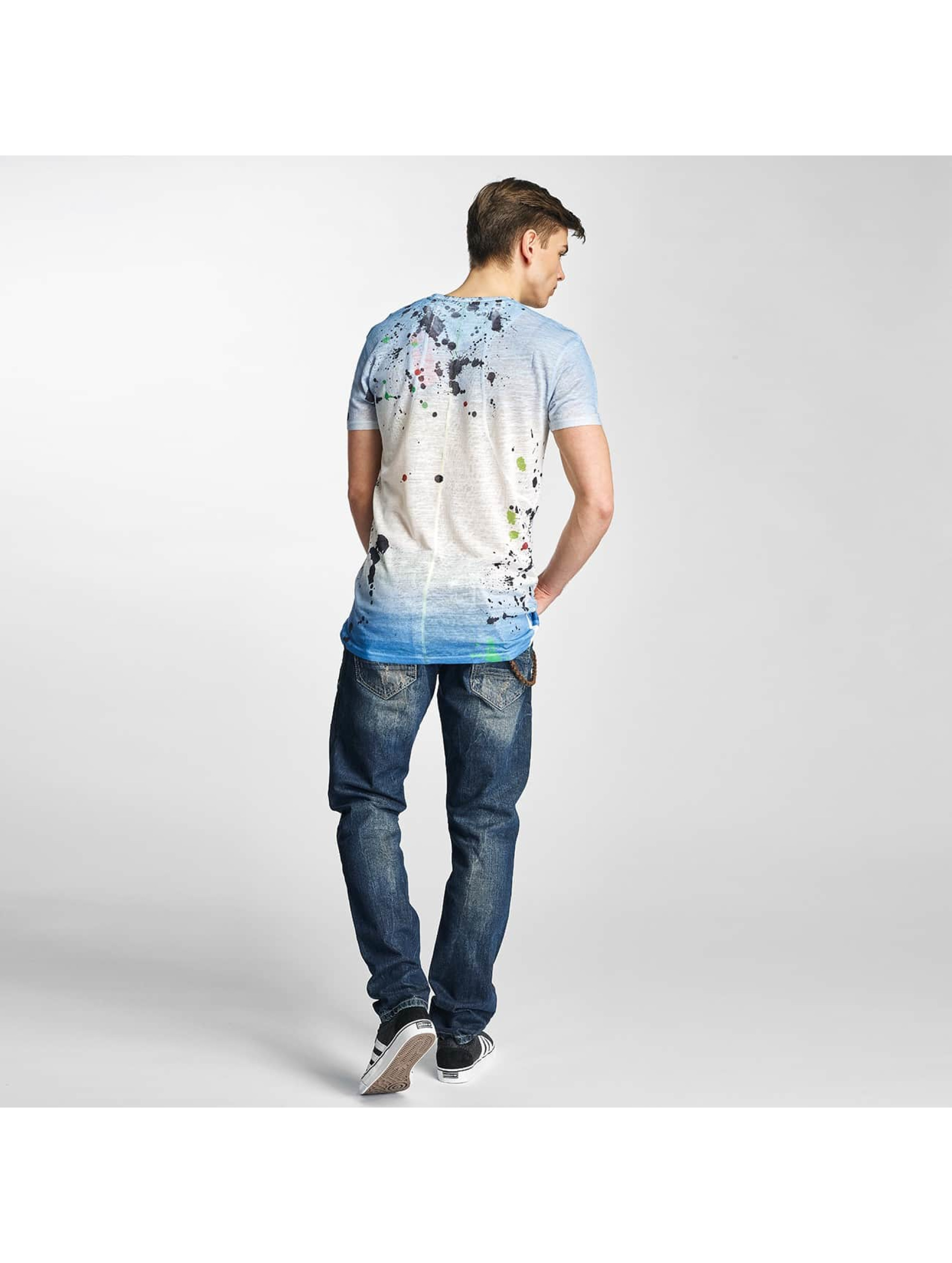Cipo & Baxx T-shirts Paint indigo